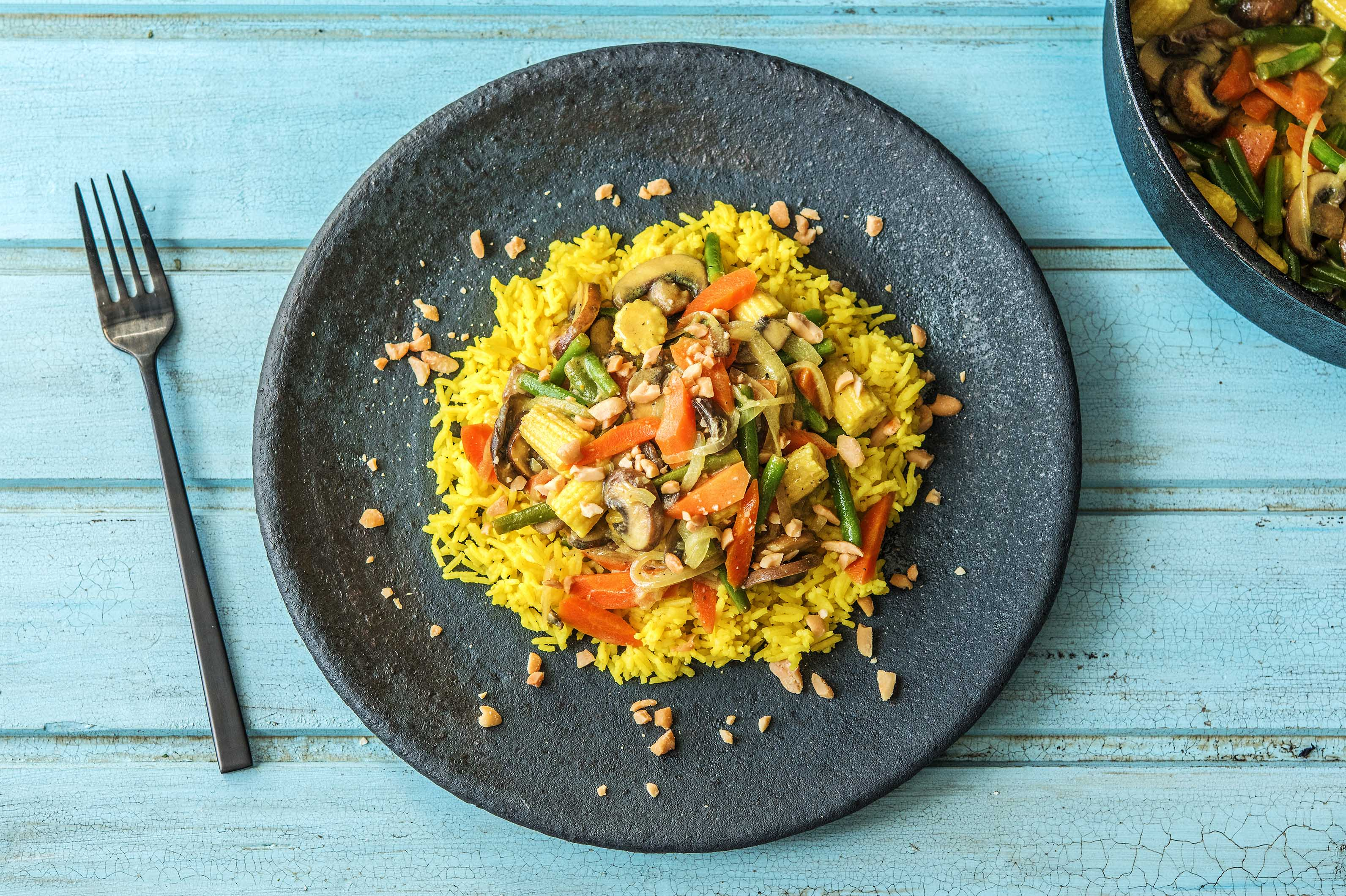 Coconutty Veggie Curry