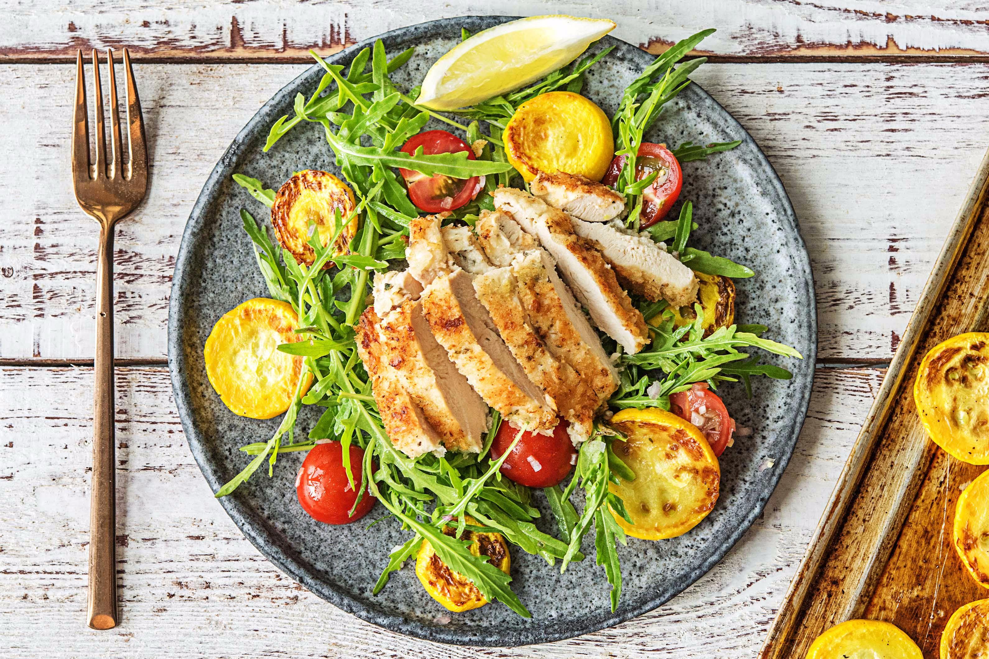 Crispy Chicken Milanese Recipe Hellofresh