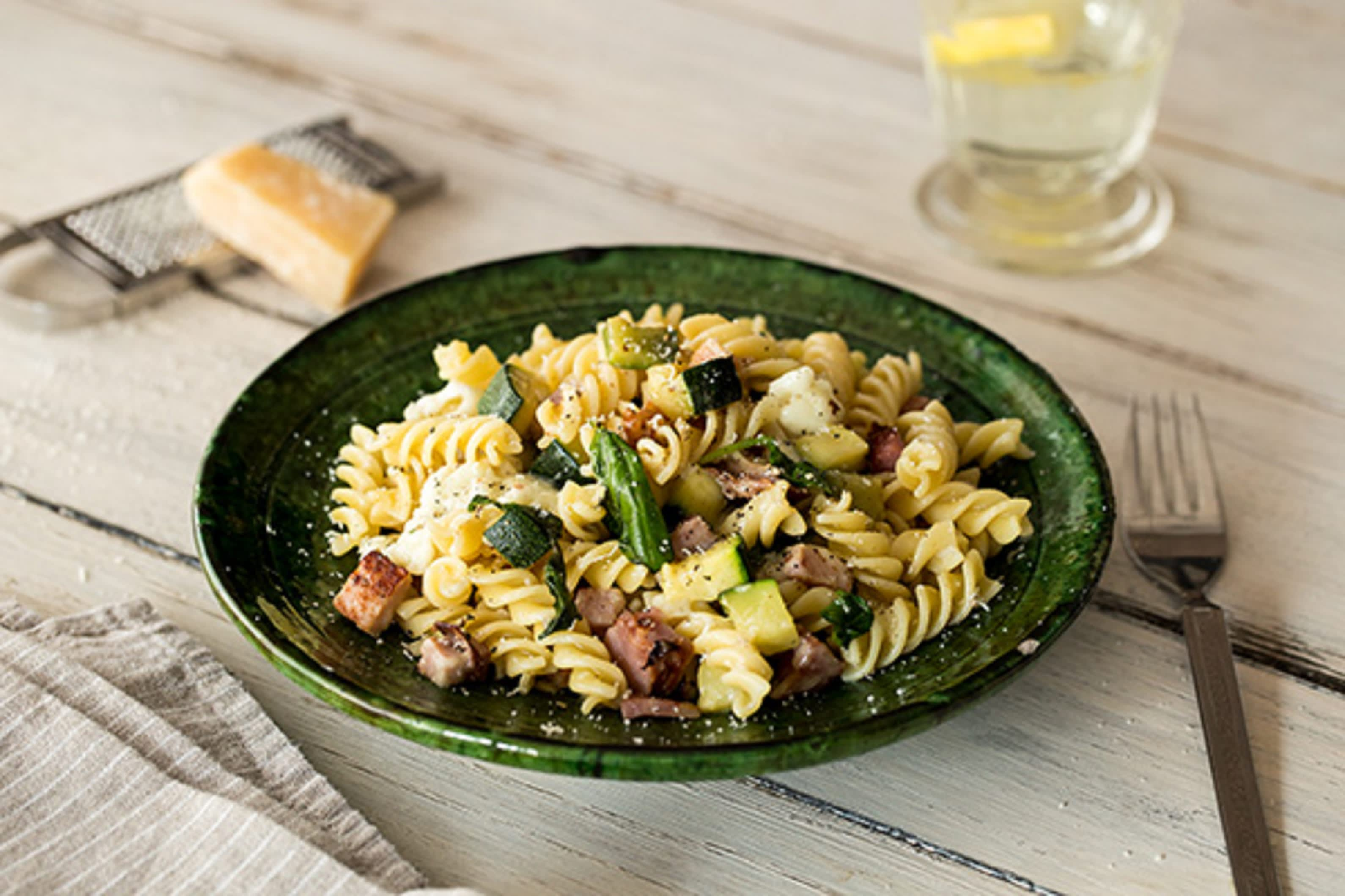 Double-Smoked Bacon Fusilli
