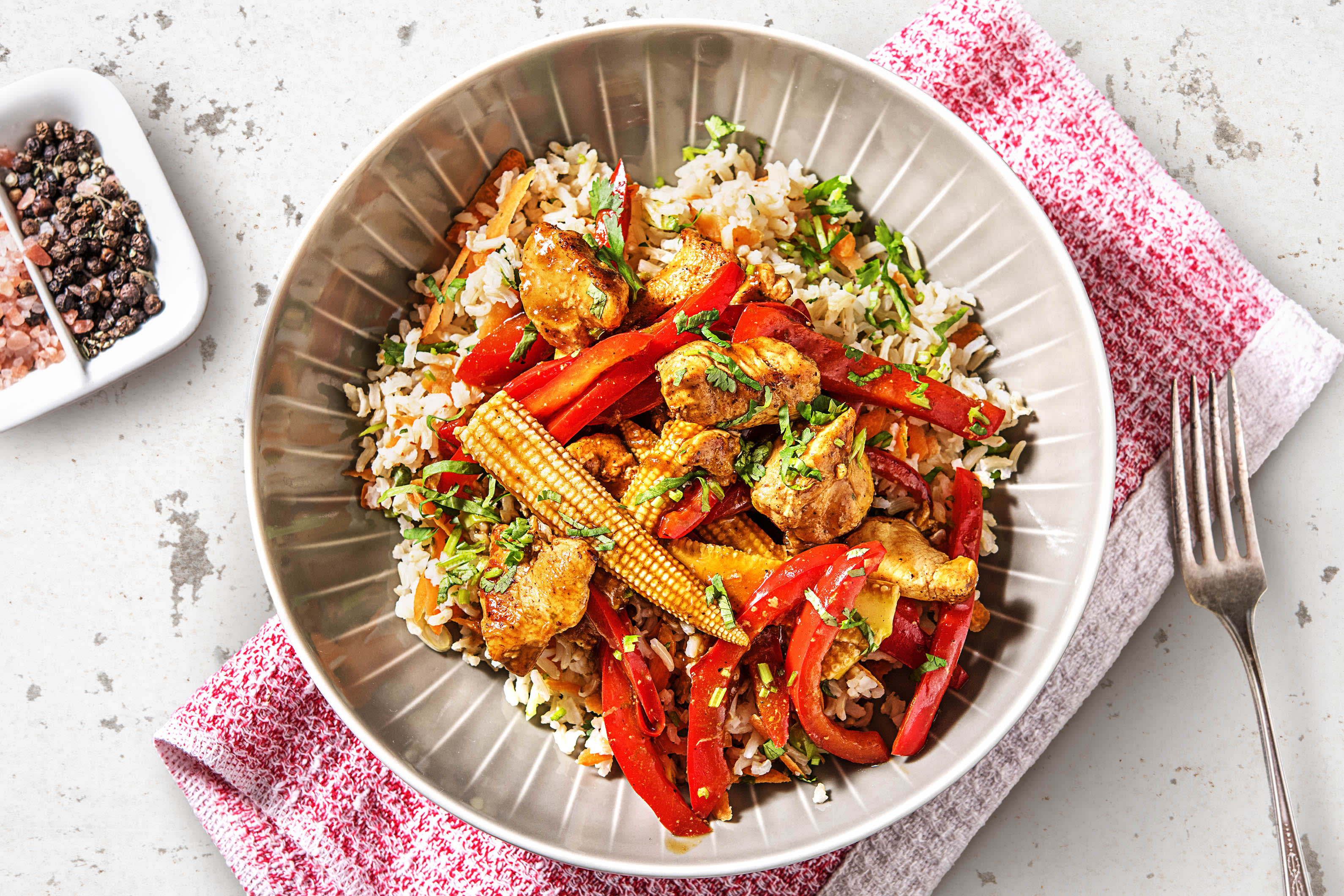 Five Spice Chicken Stir-Fry