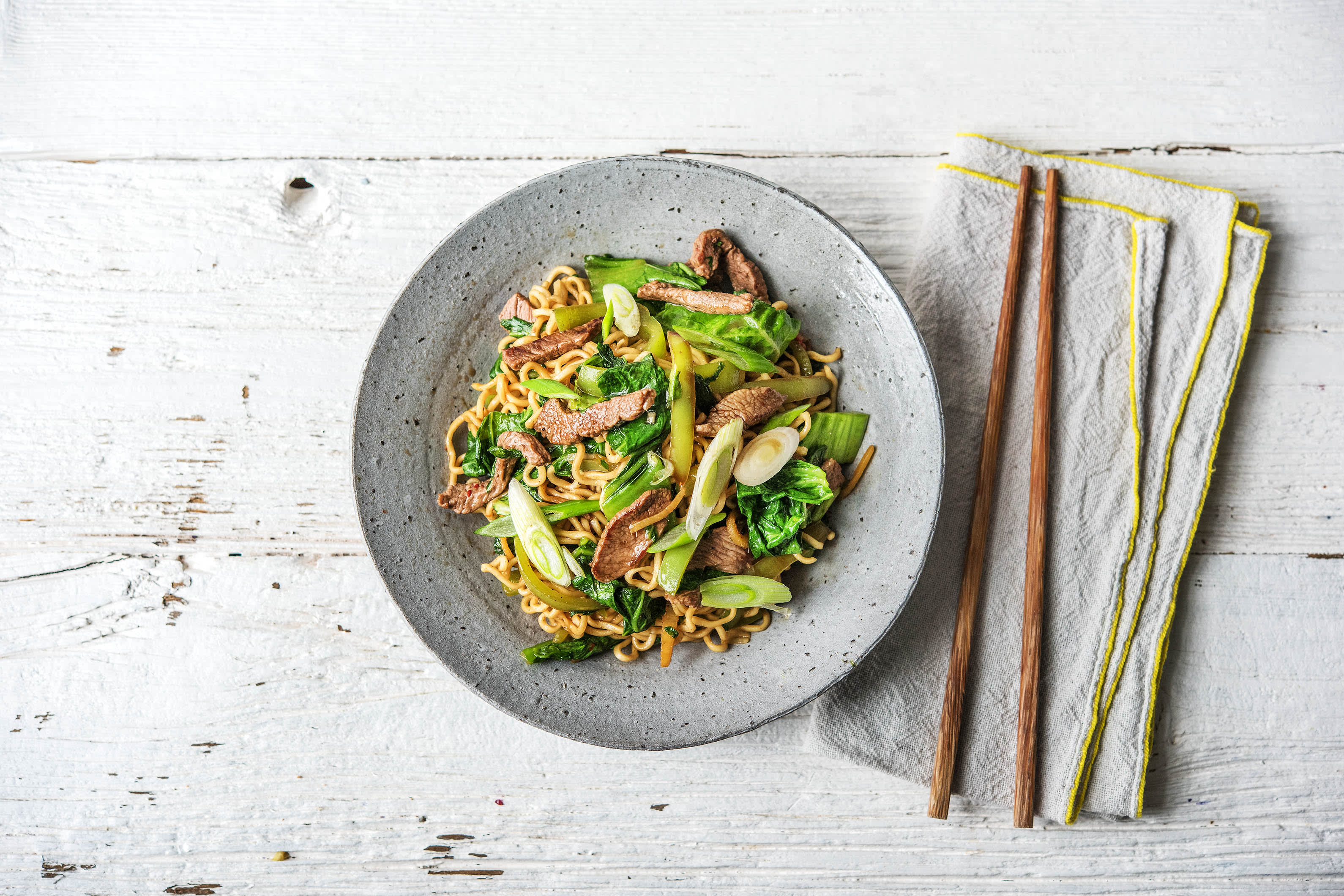 Five Spiced Lamb Stir-Fry