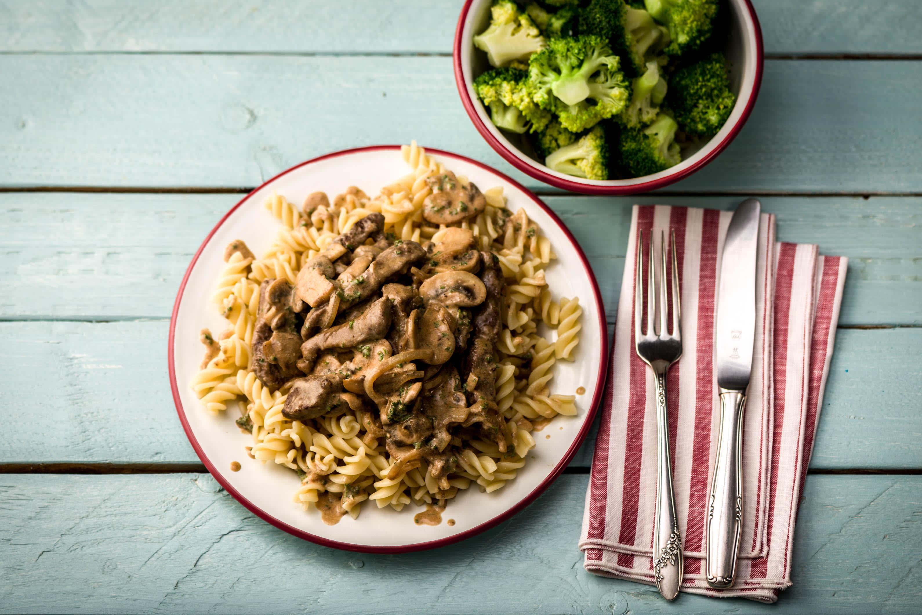 Healthy Beef Stroganoff Recipe Hellofresh