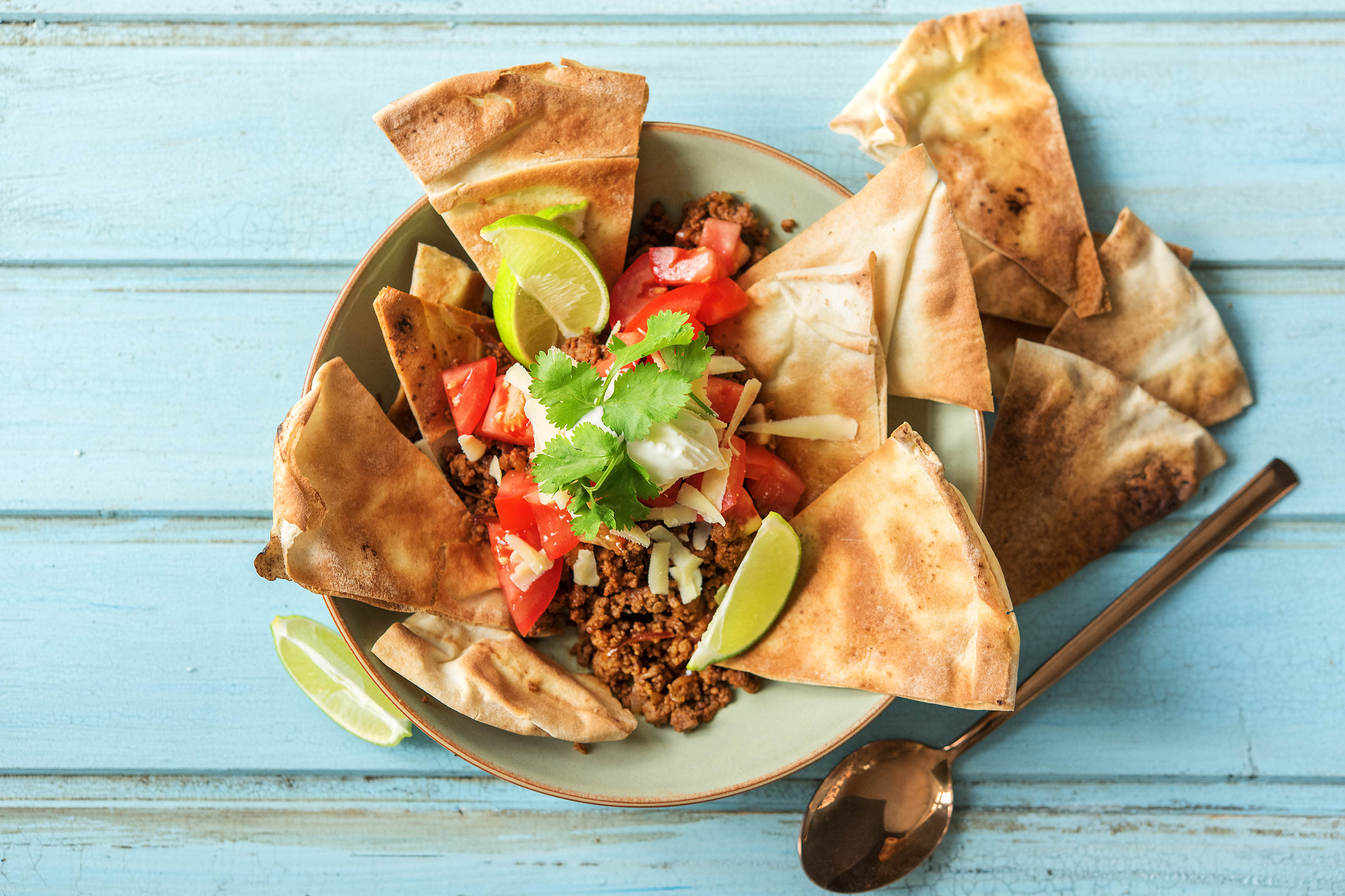 Healthy Mexican Nachos