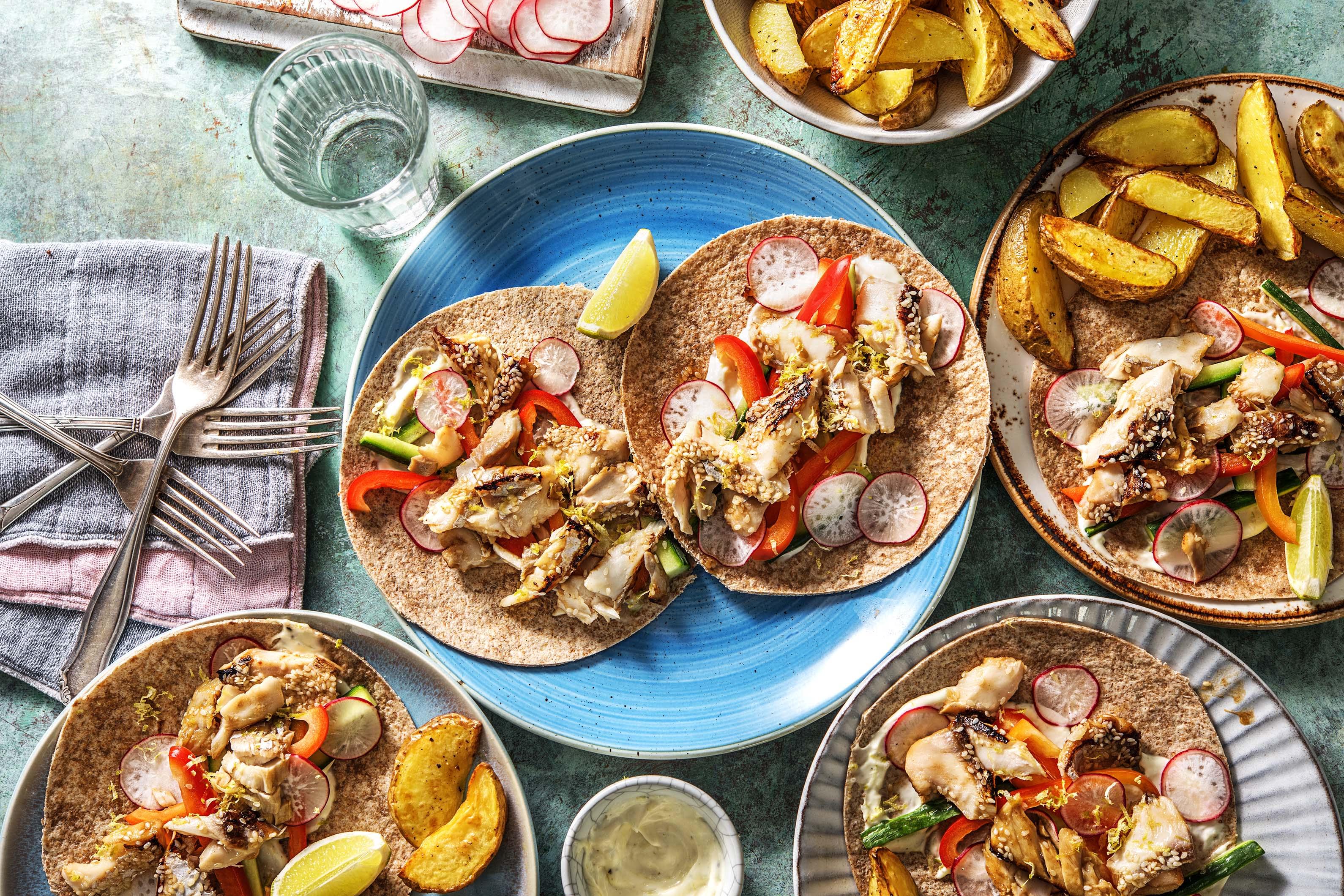 Hoisin Fish Tacos