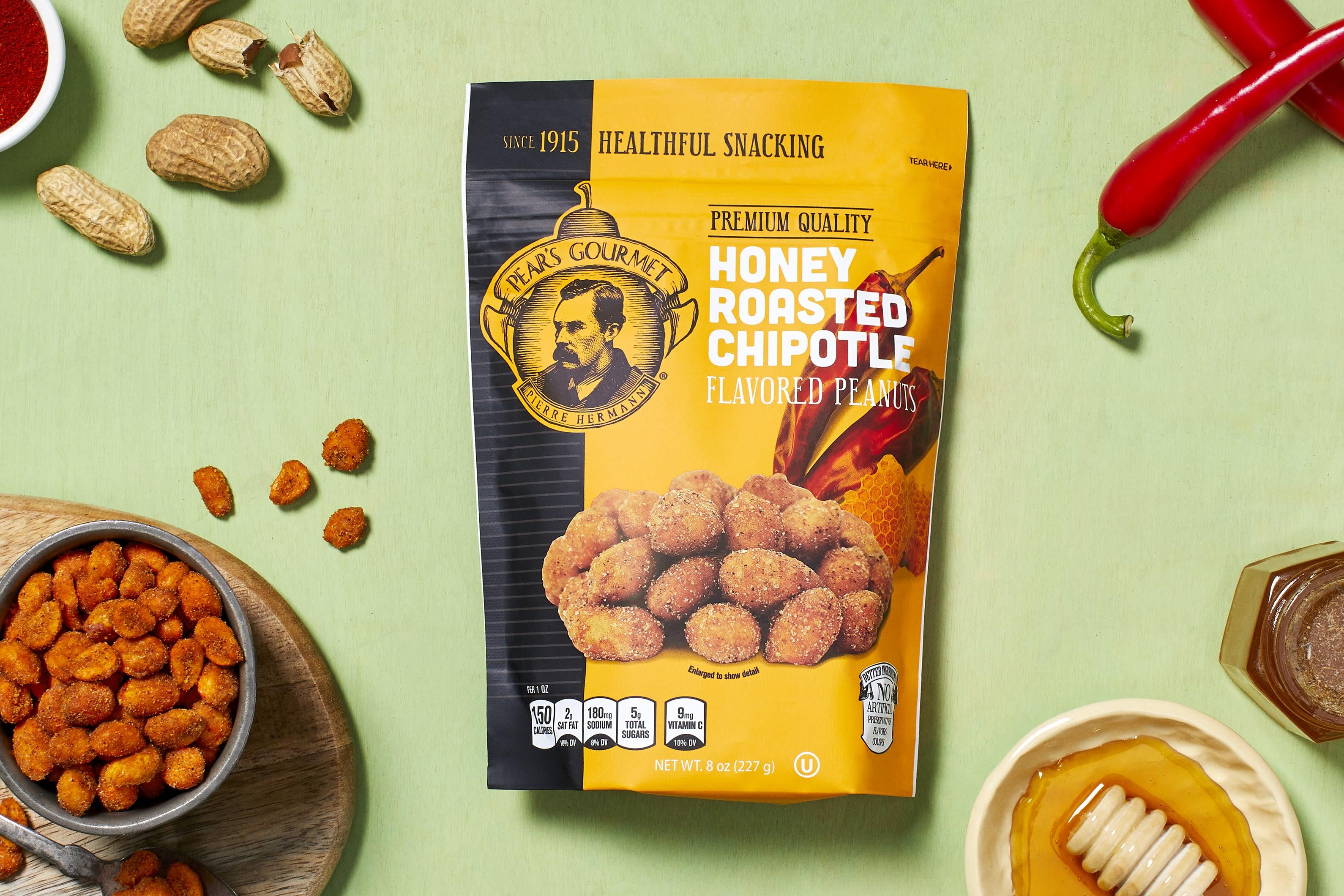 Honey Roasted Chipotle Peanuts