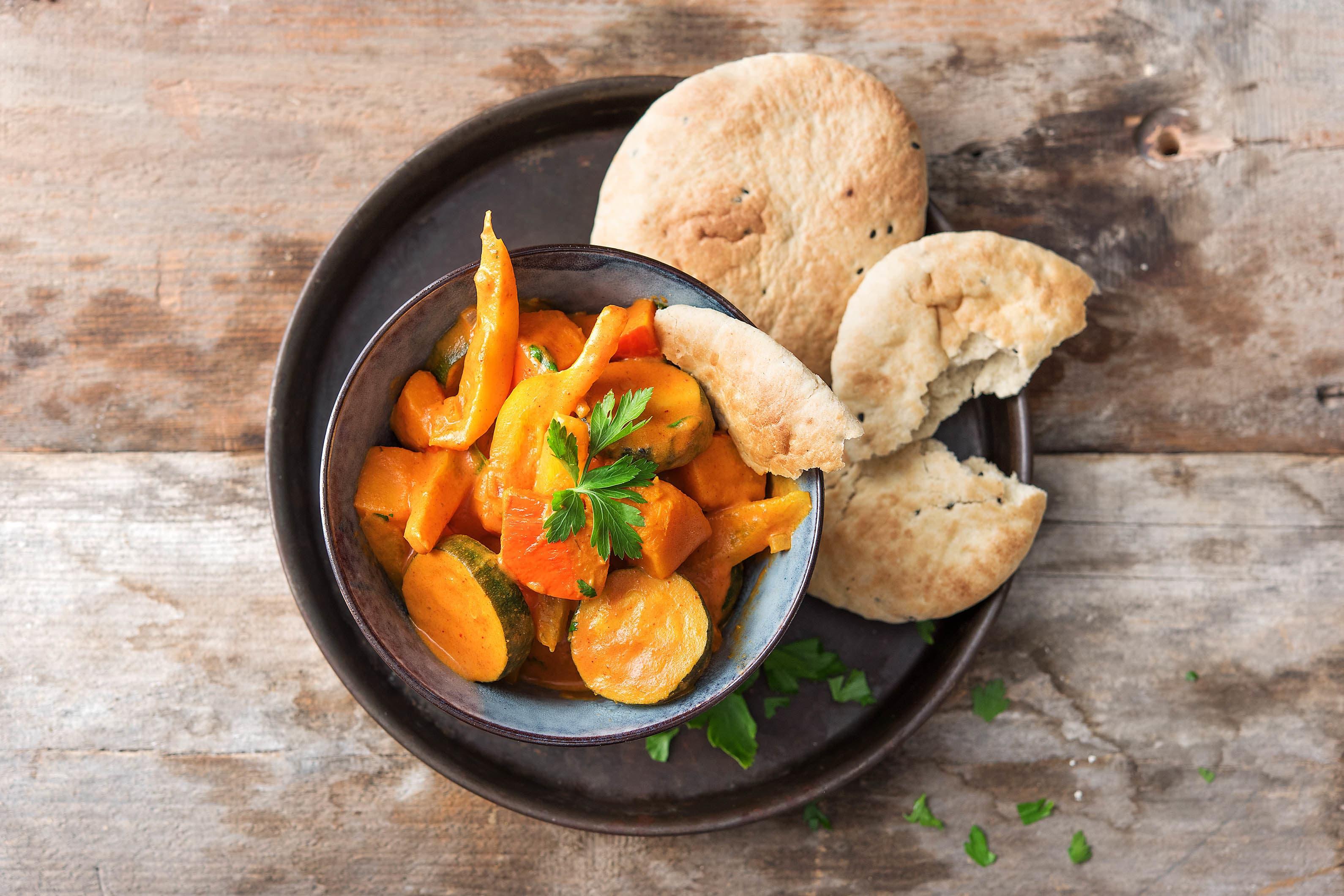 Indisches Tikka Masala-Gemüsecurry Rezept | HelloFresh