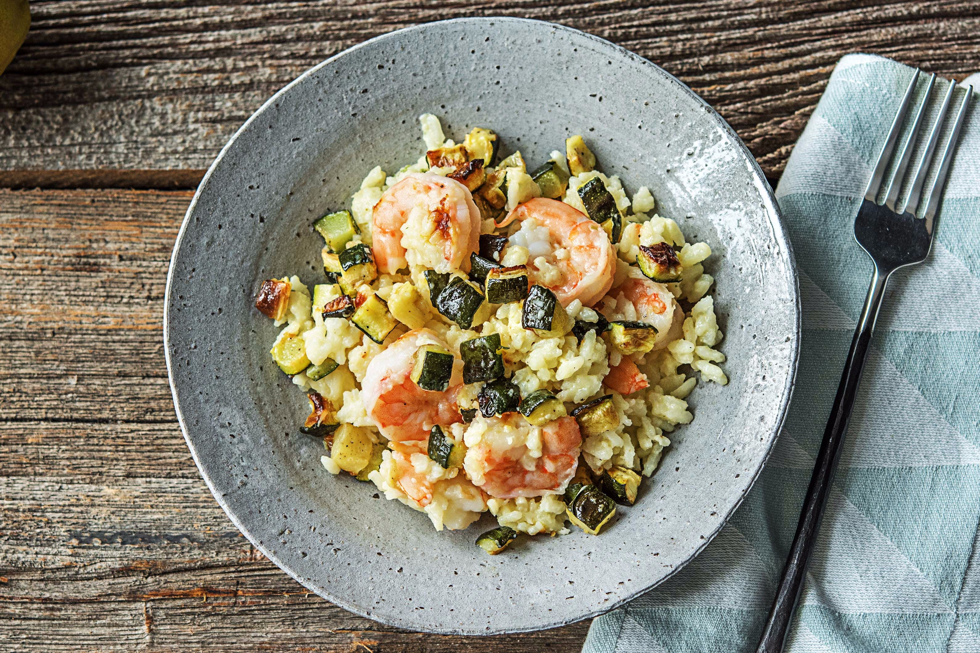 Lemony Shrimp Risotto