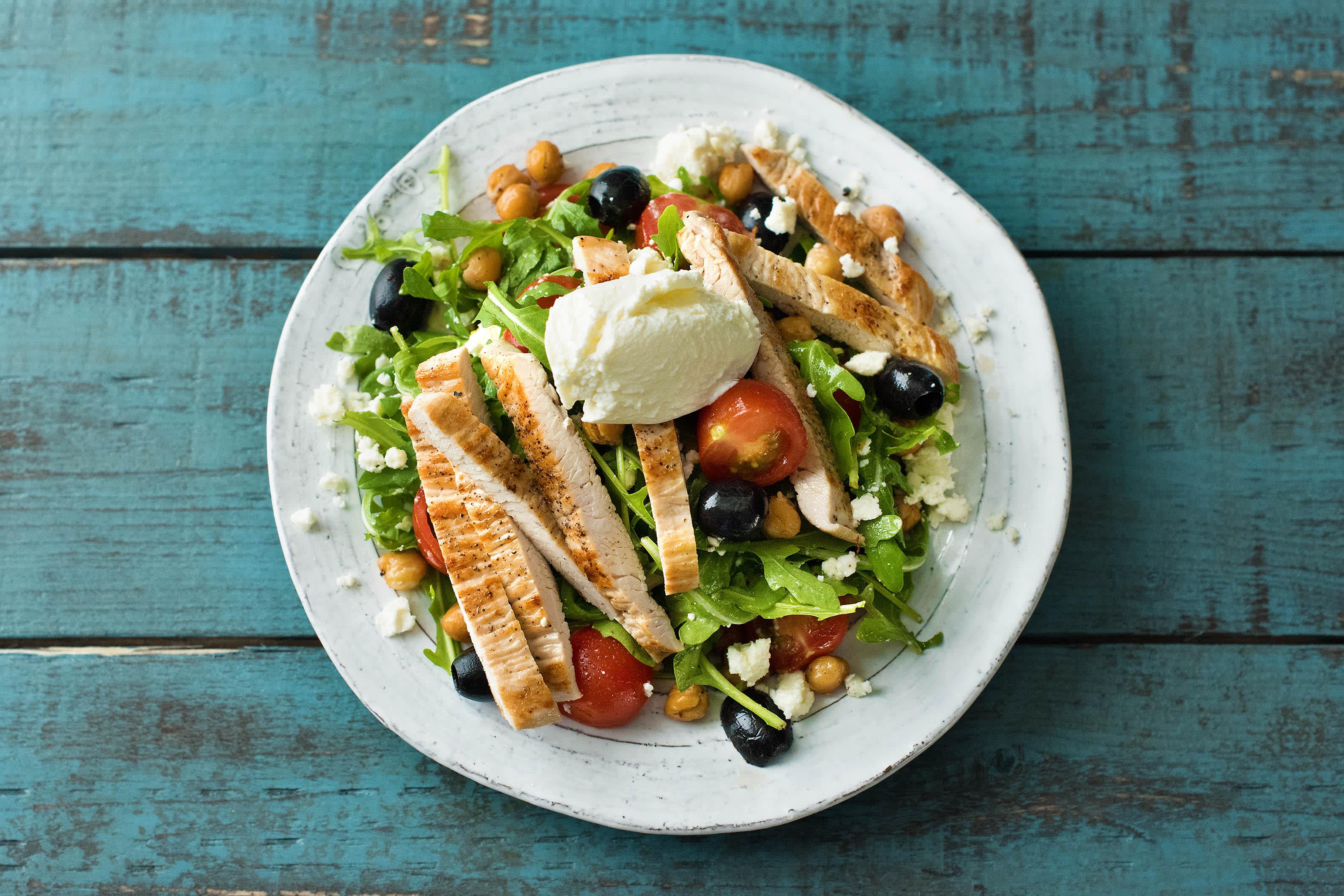 Low Carb – Kichererbsen-Salat
