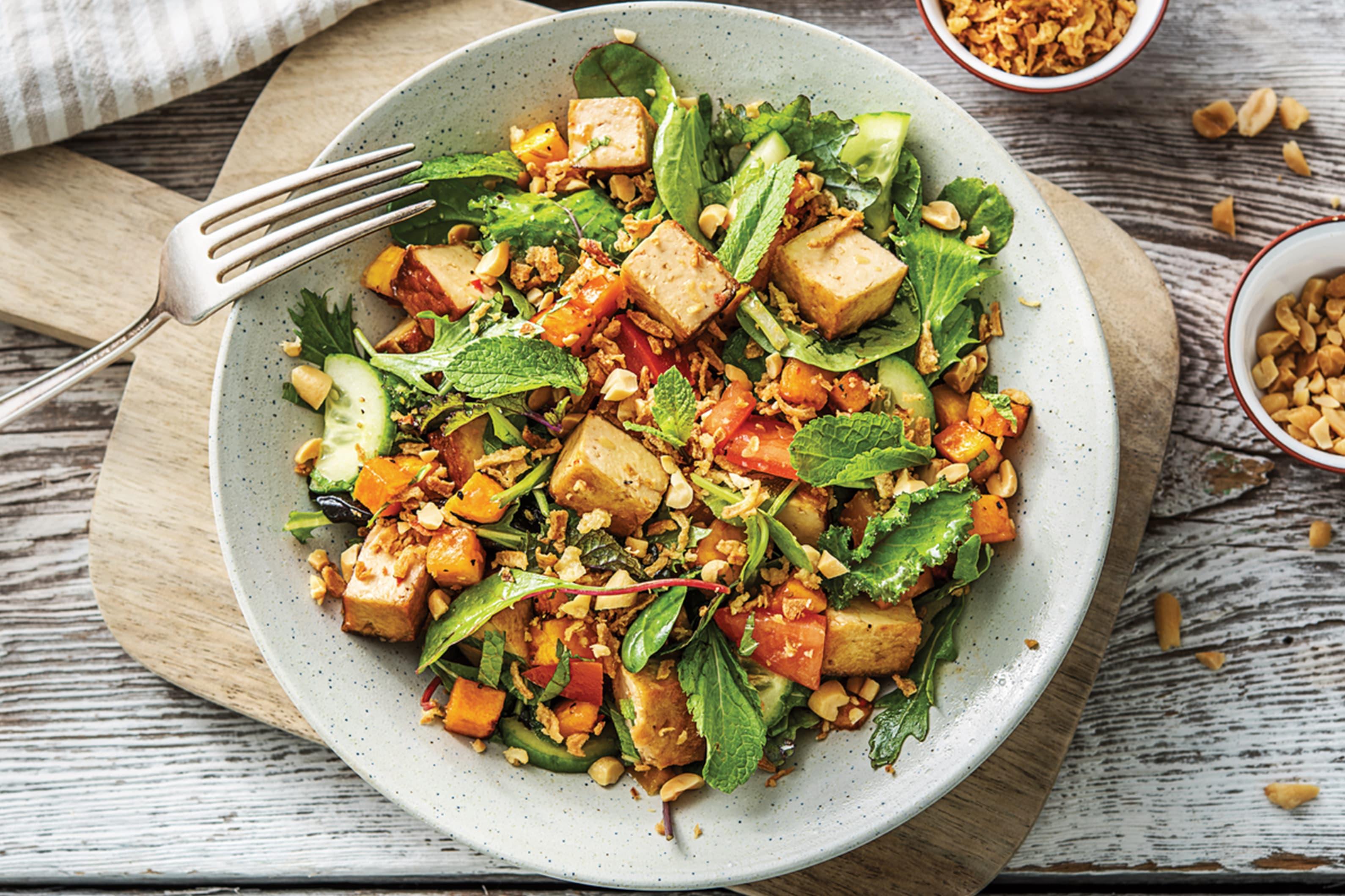 Malaysian Tofu Salad