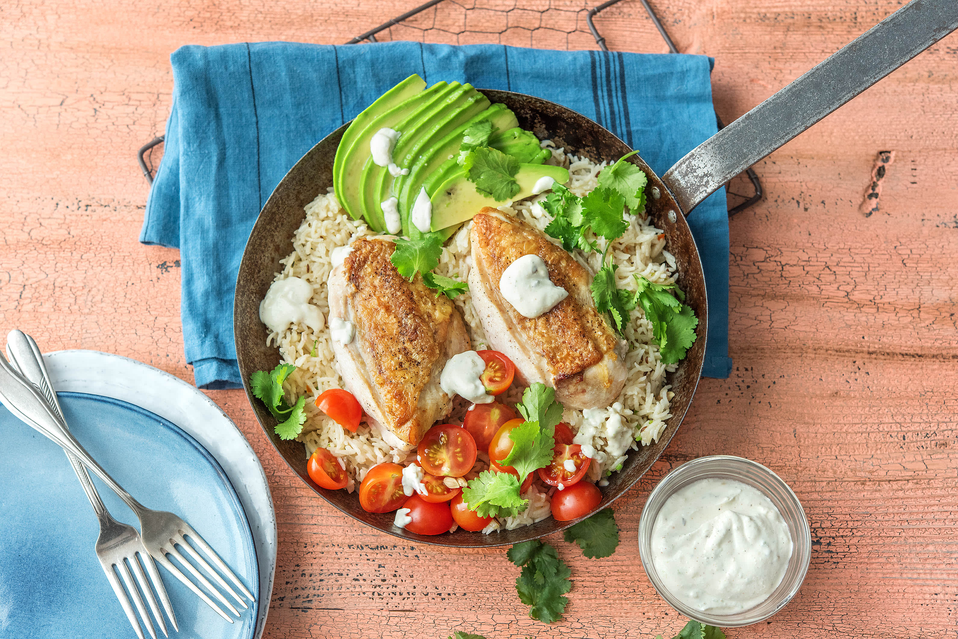 Mexican Spiced Chicken and Rice