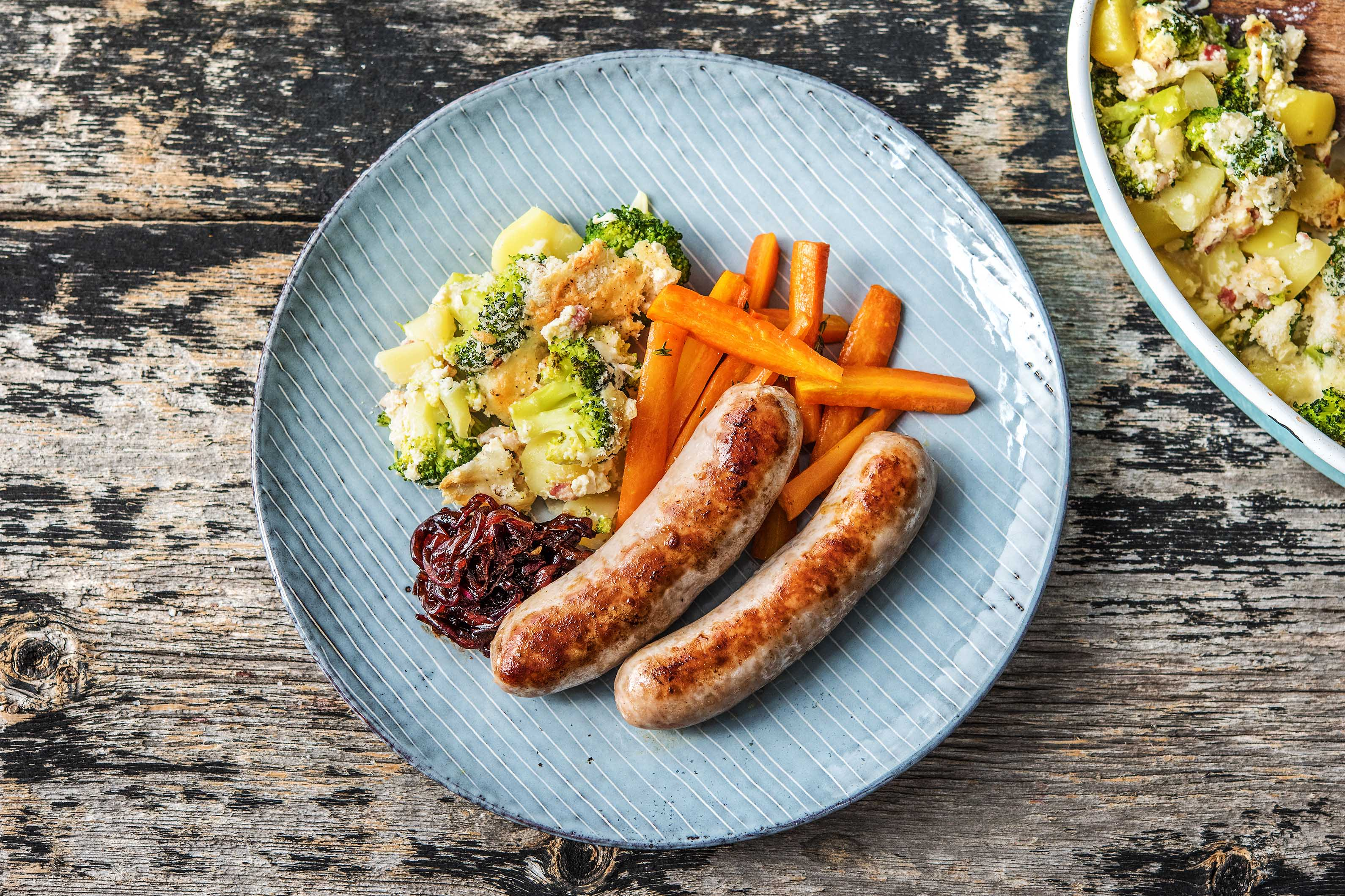 Oven-Baked Sausages