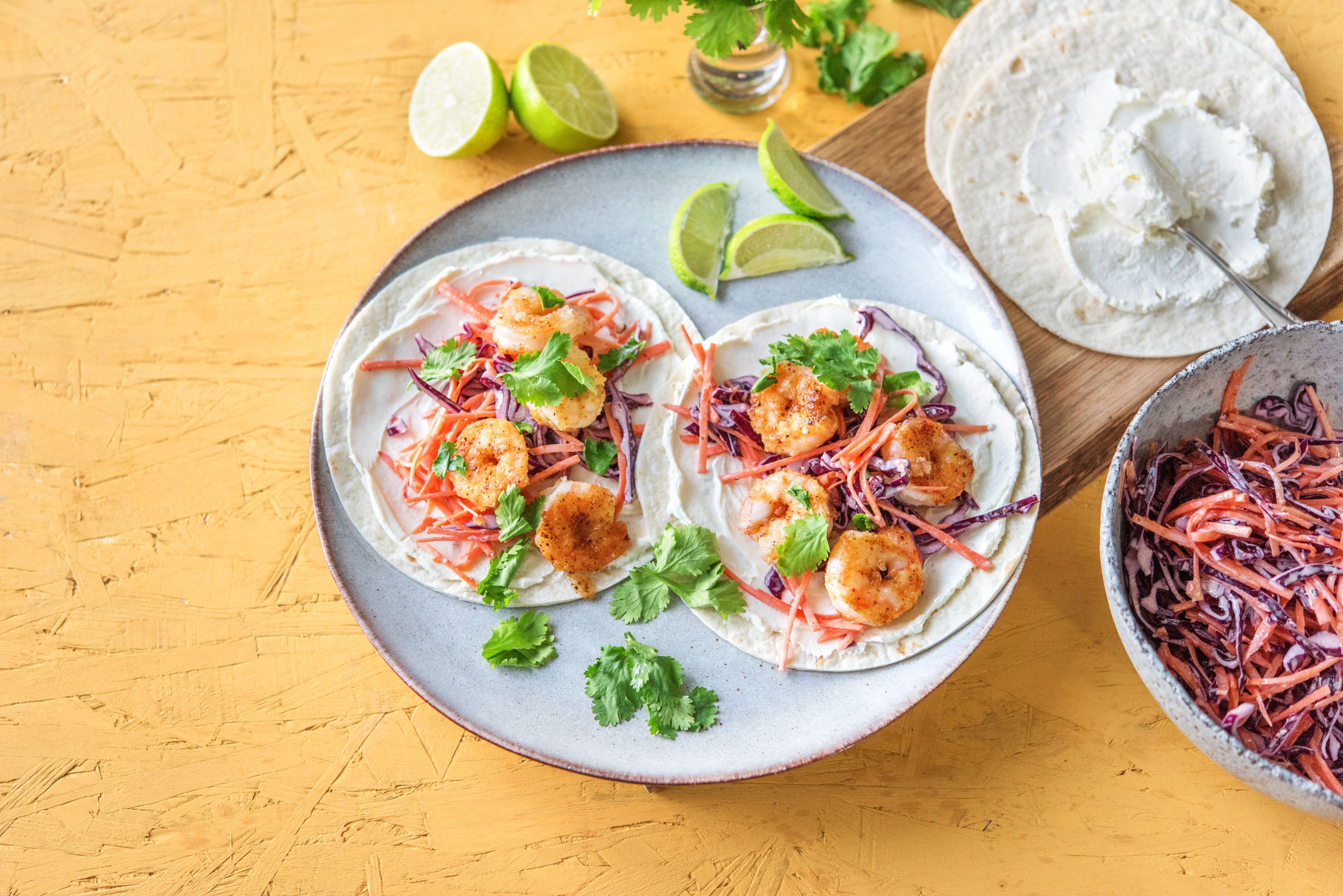 Rapid Crispy Shrimp Tacos