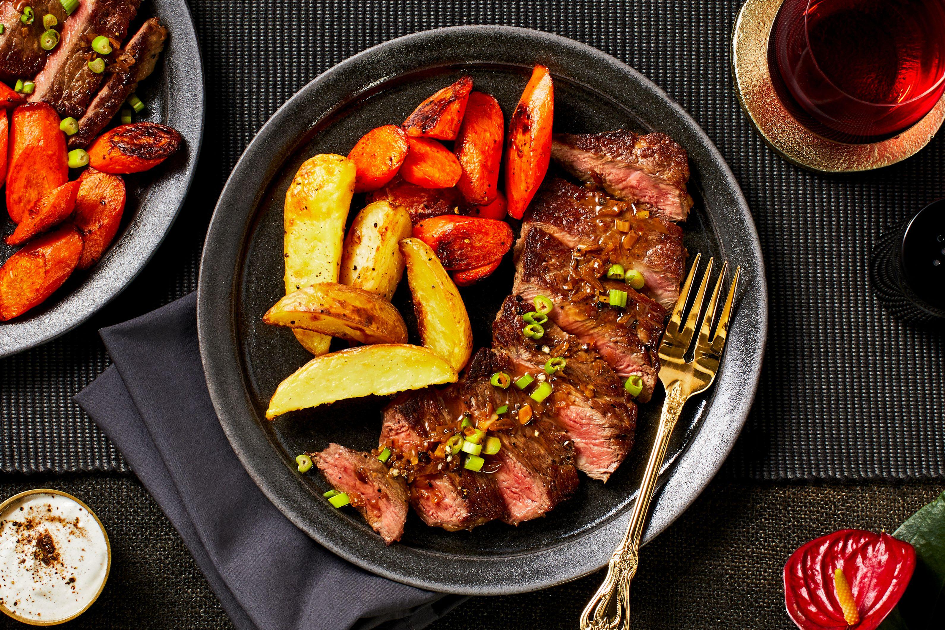Sirloin Steak Provençal