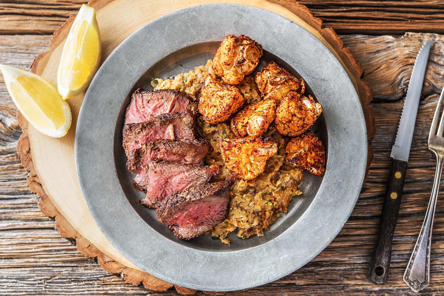 Sumac-Paprika Steak