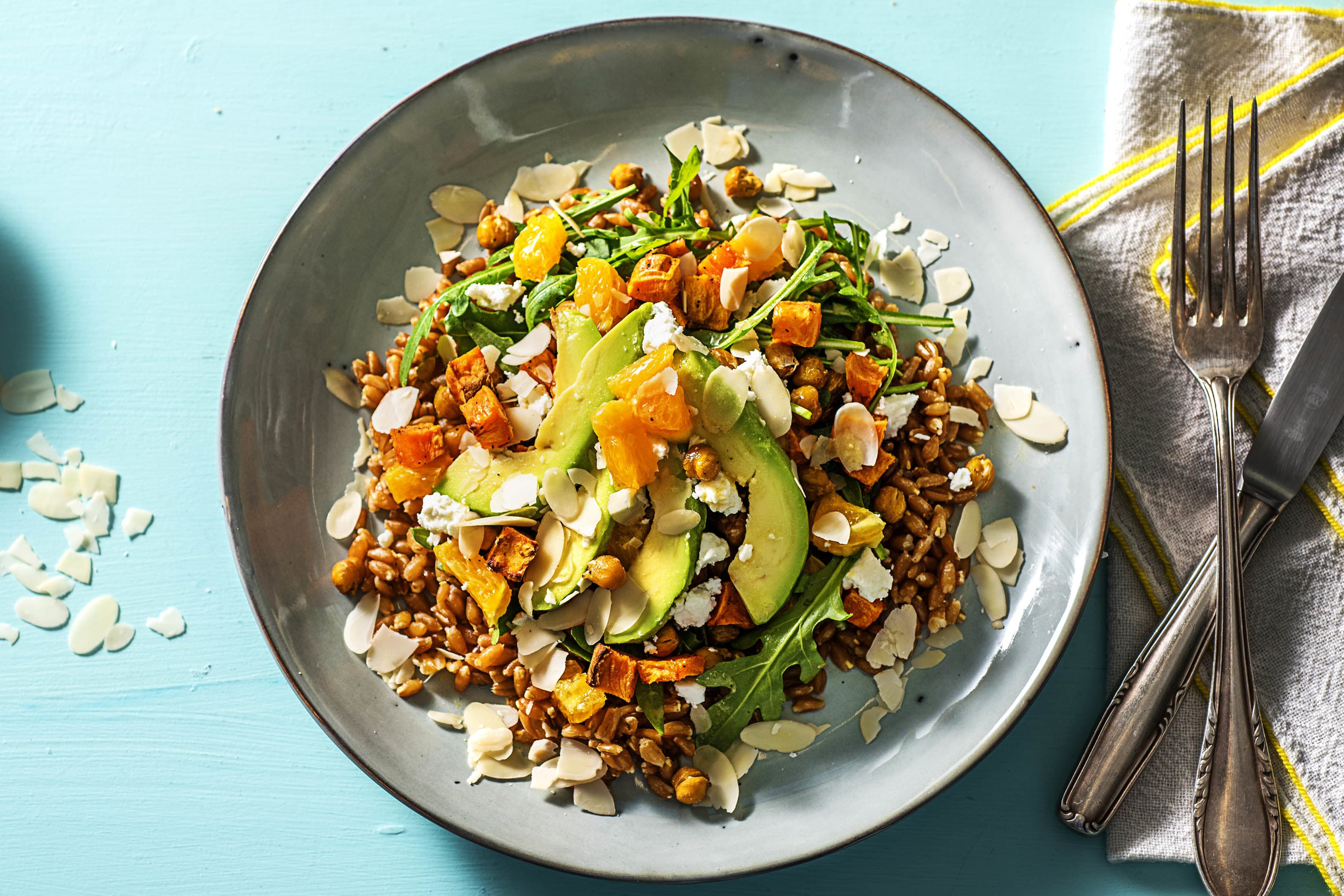 Sweet Potato Sunshine Bowl