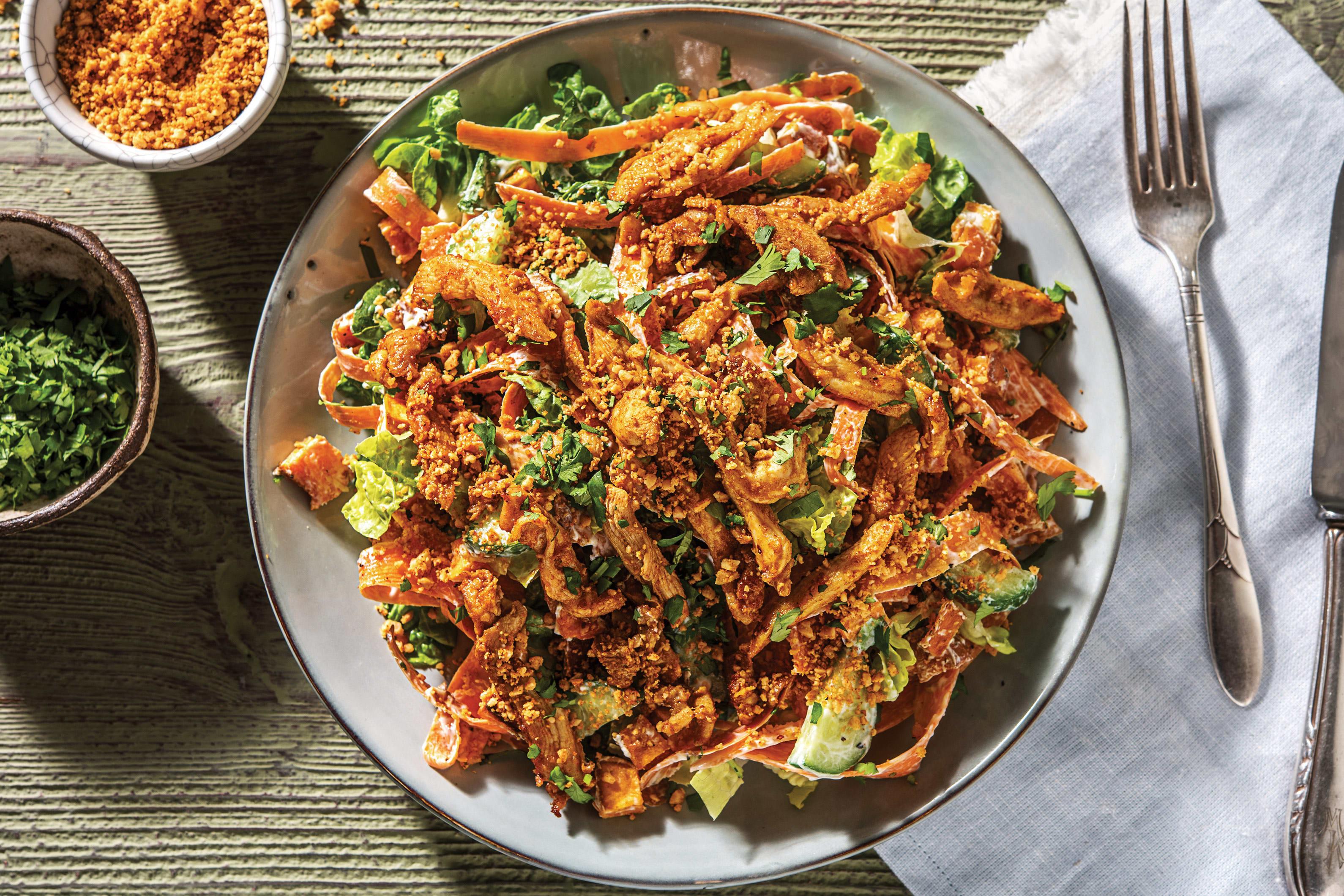 Tandoori Chicken Sweet Potato Bowl