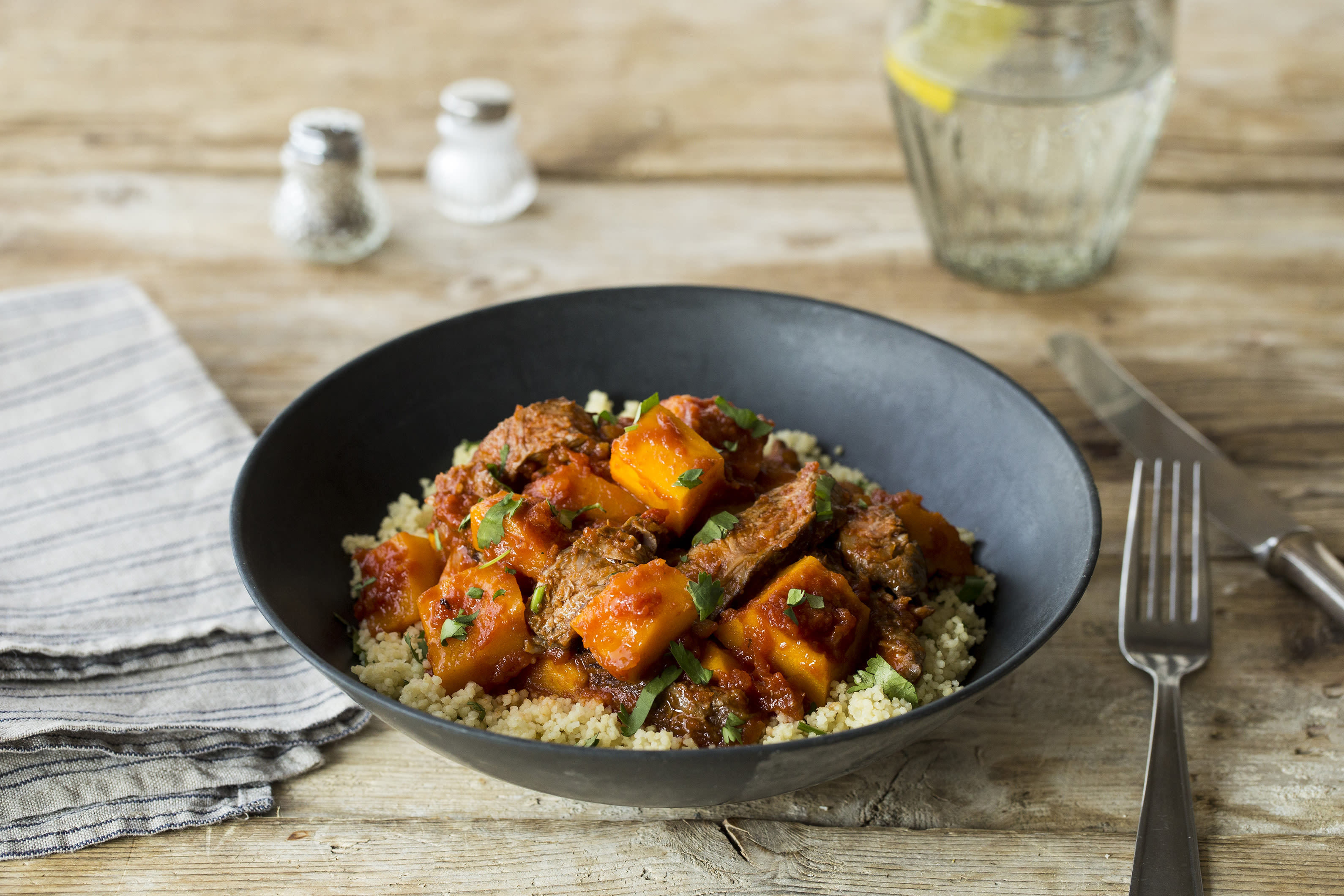 Tender Beef & Sweet Pumpkin Tagine