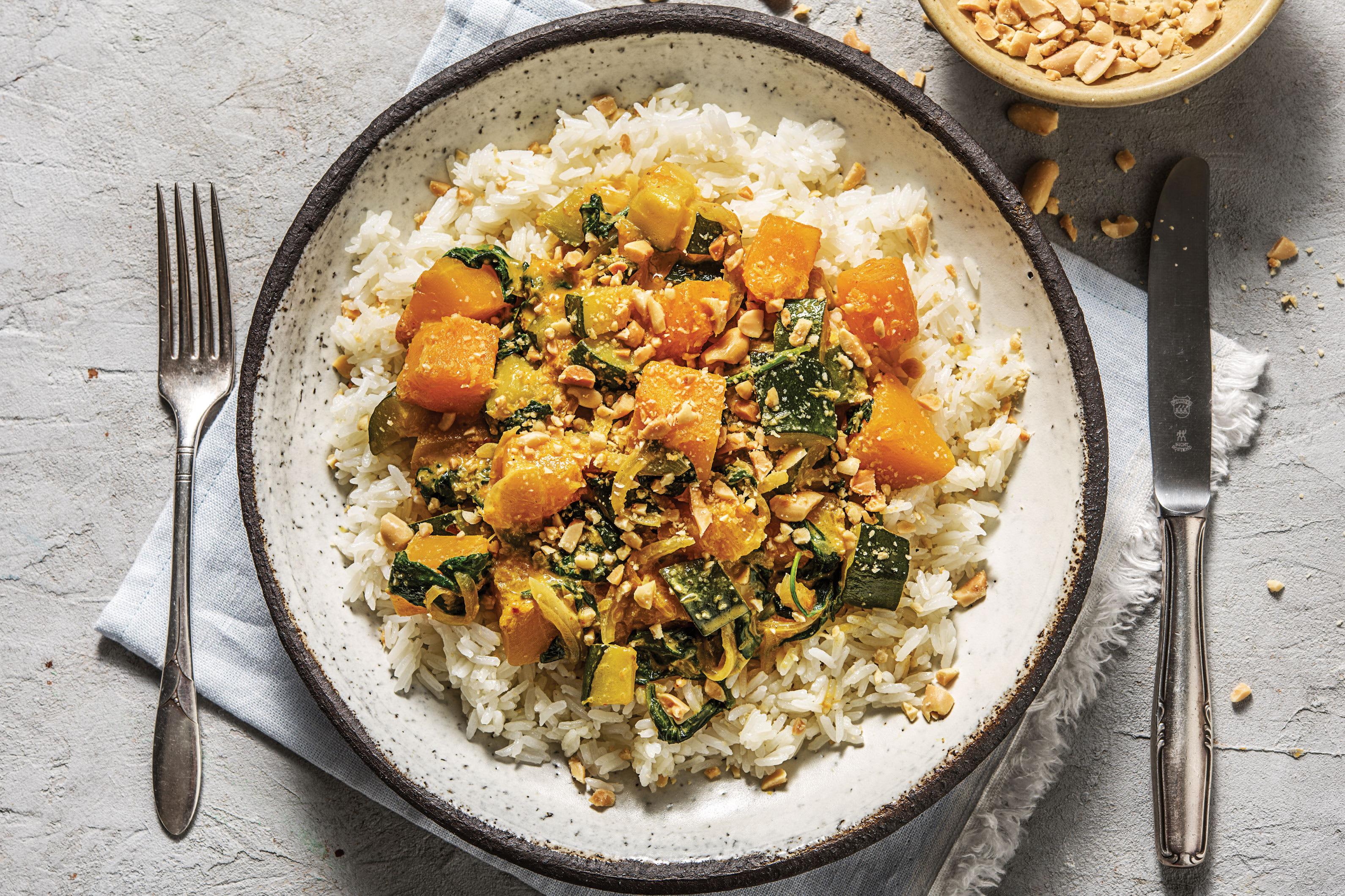Thai Pumpkin & Veggie Yellow Curry