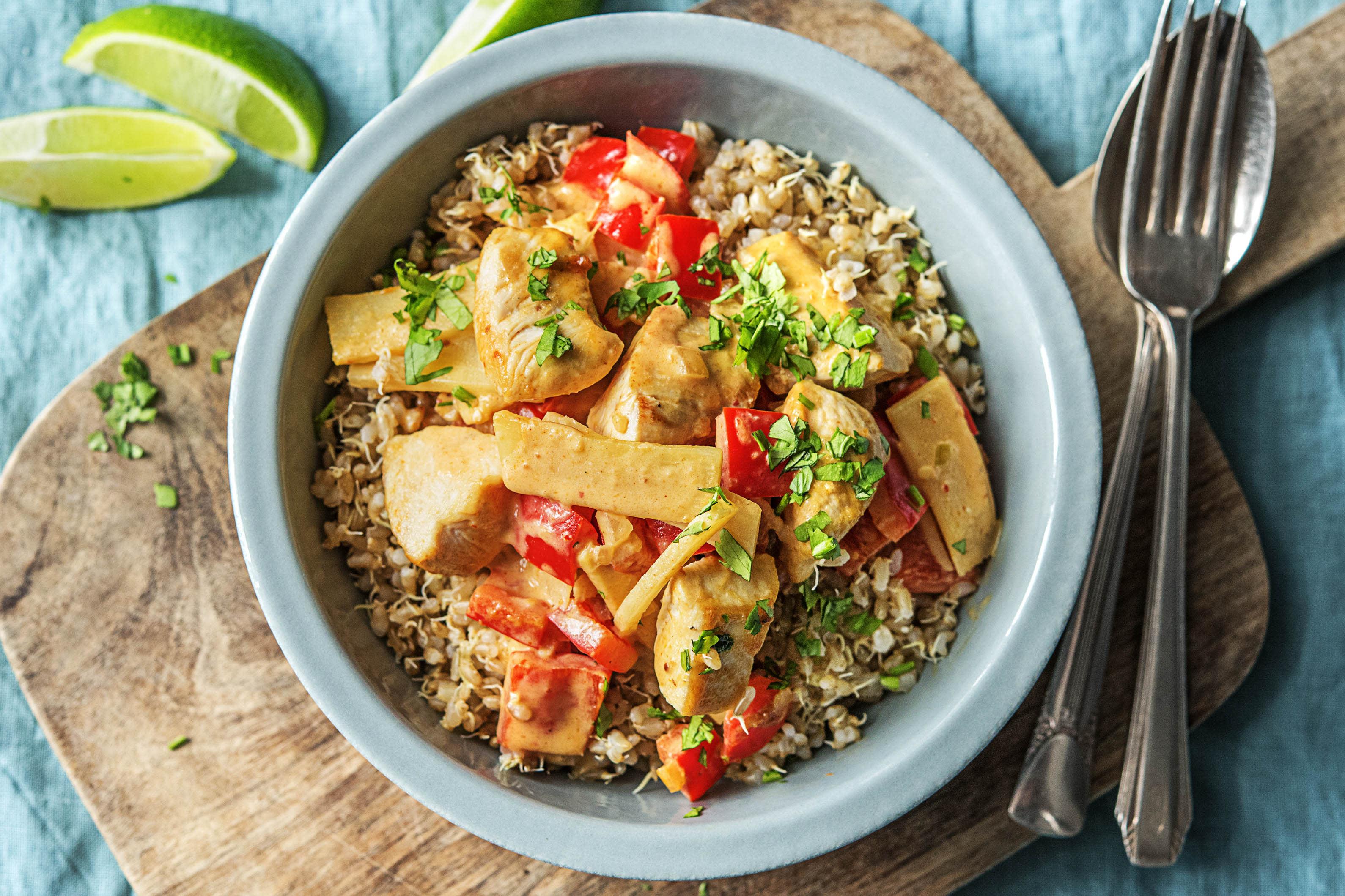 Thai Chicken Red Curry Recipe Hellofresh