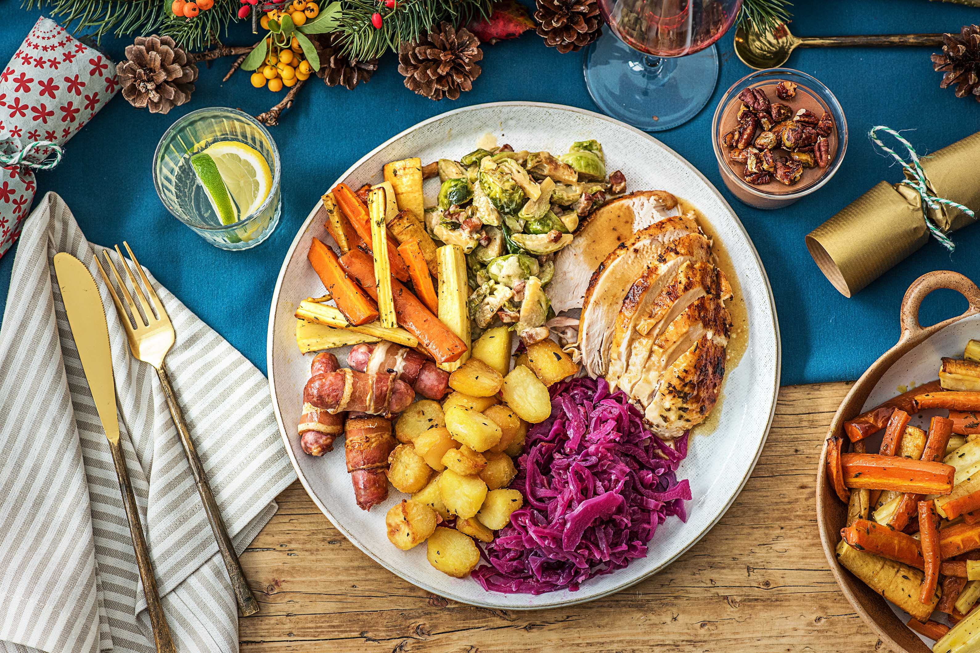 traditional christmas dinner recipe hellofresh