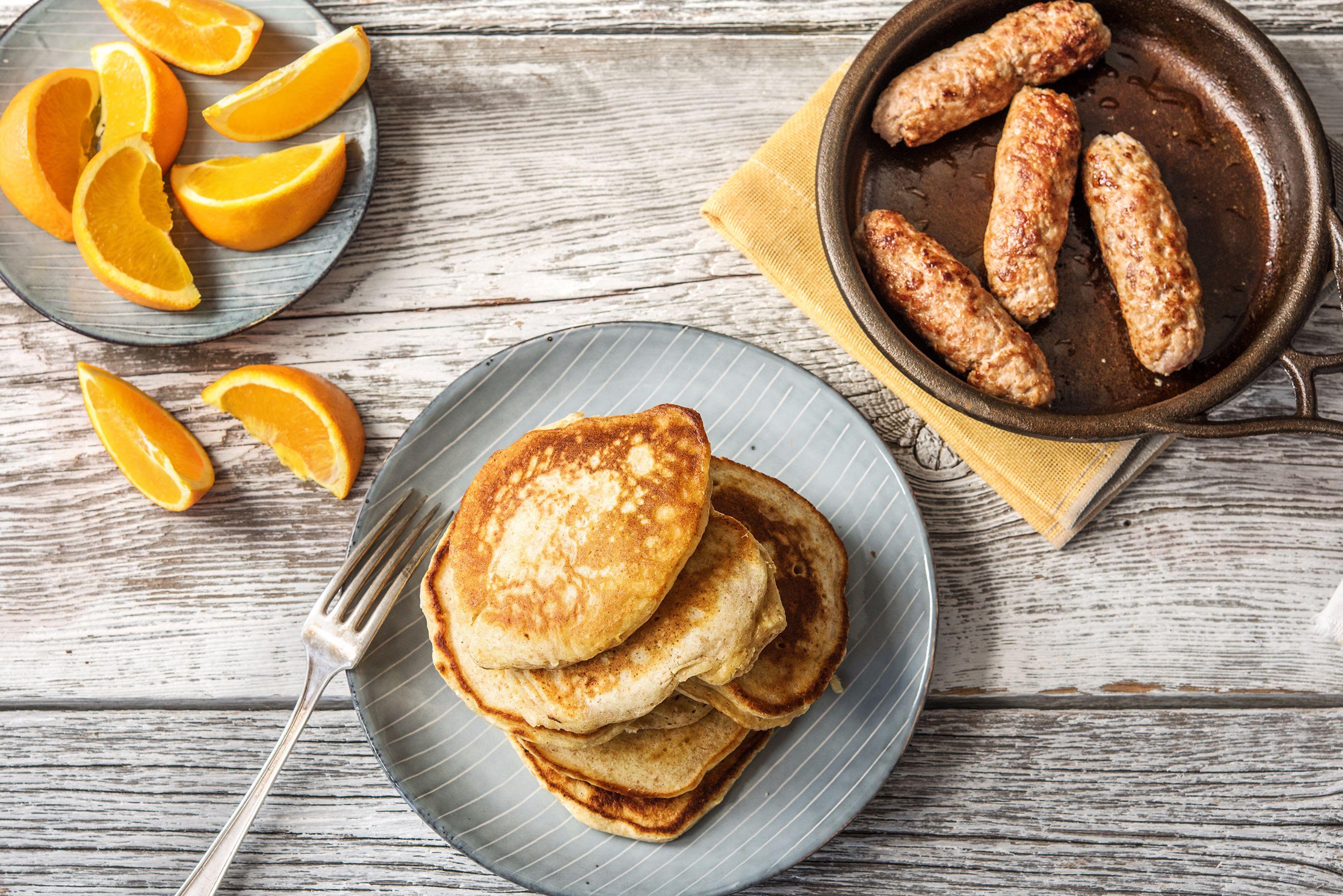 Breakfast Lemon Ricotta Pancakes