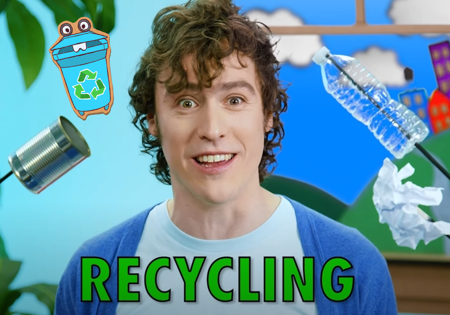 Recycling Ben - Make It A Puppet by The Pop Ups