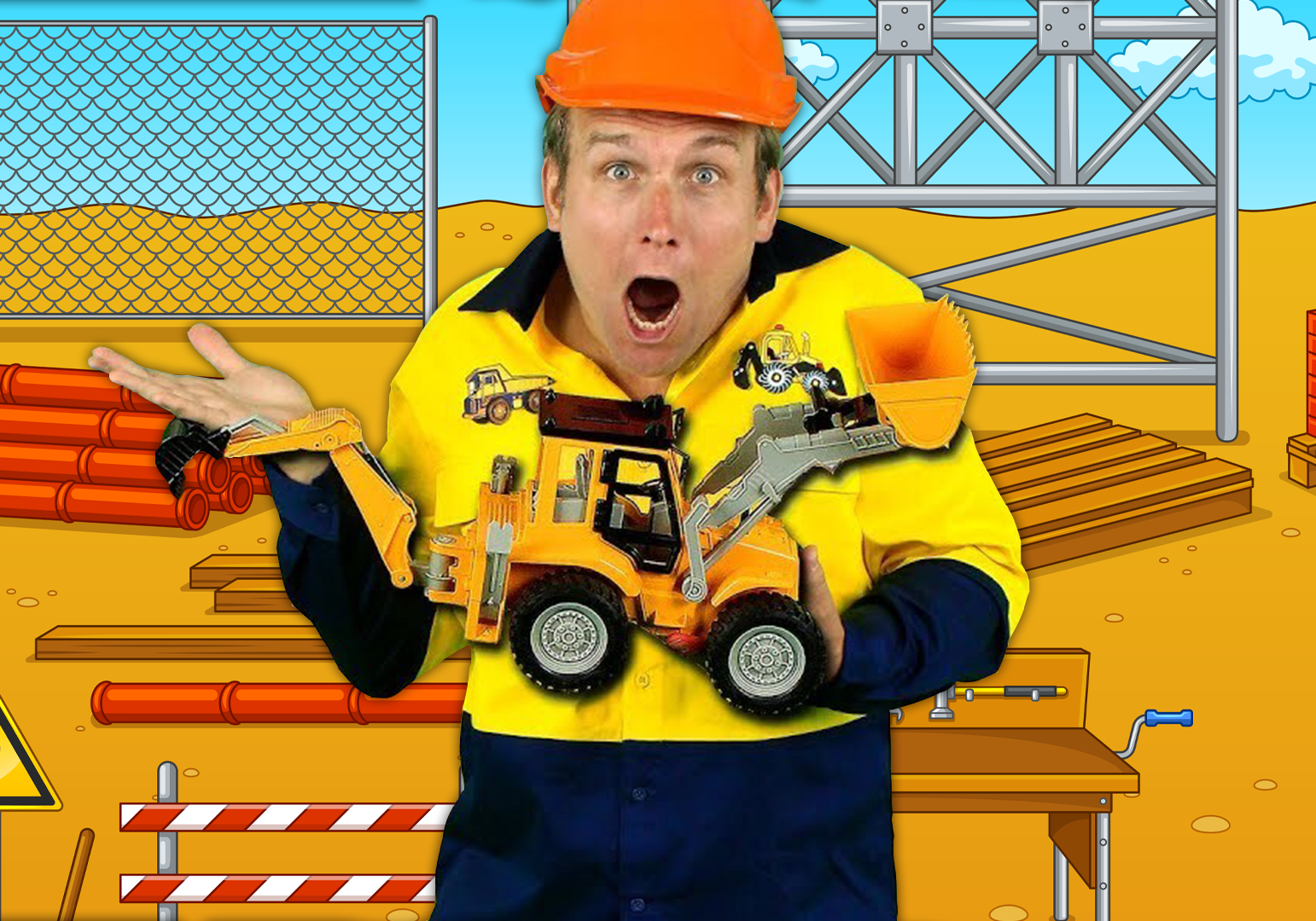 Construction Machines by Bounce Patrol