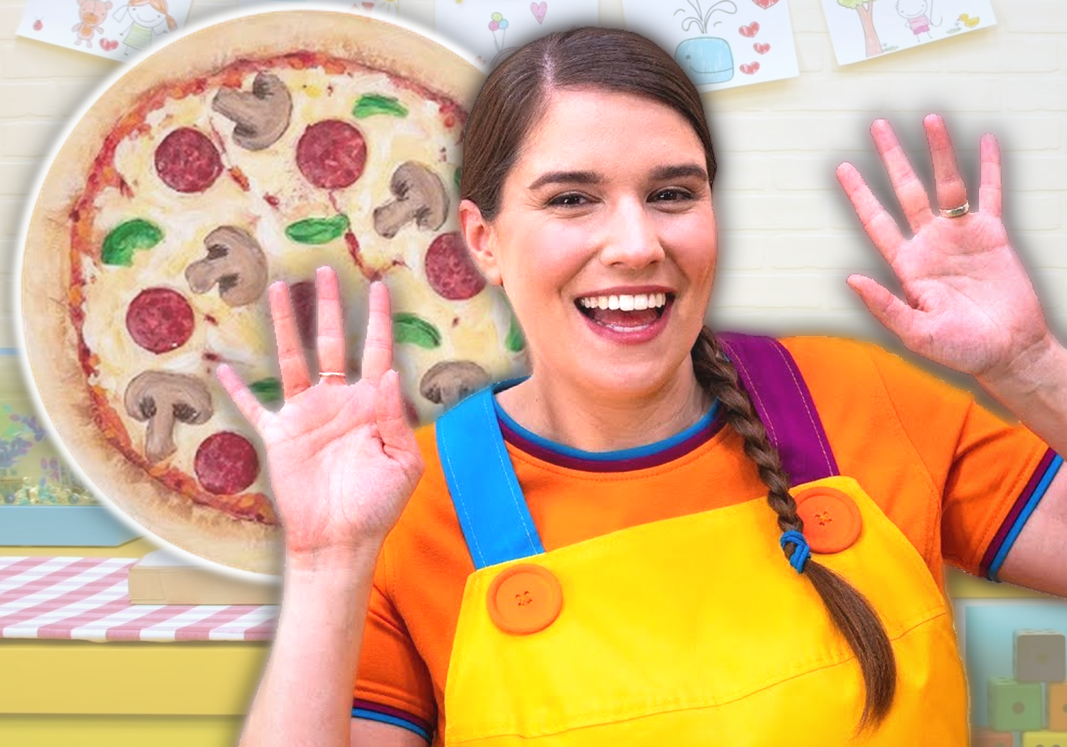 Yummy Yummy Pizza by Super Simple