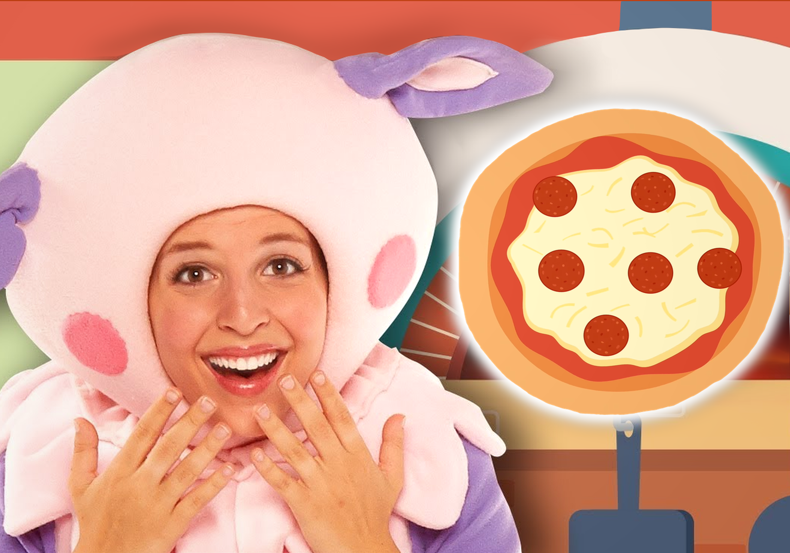 Lets Make A Pizza! by Mother Goose Club