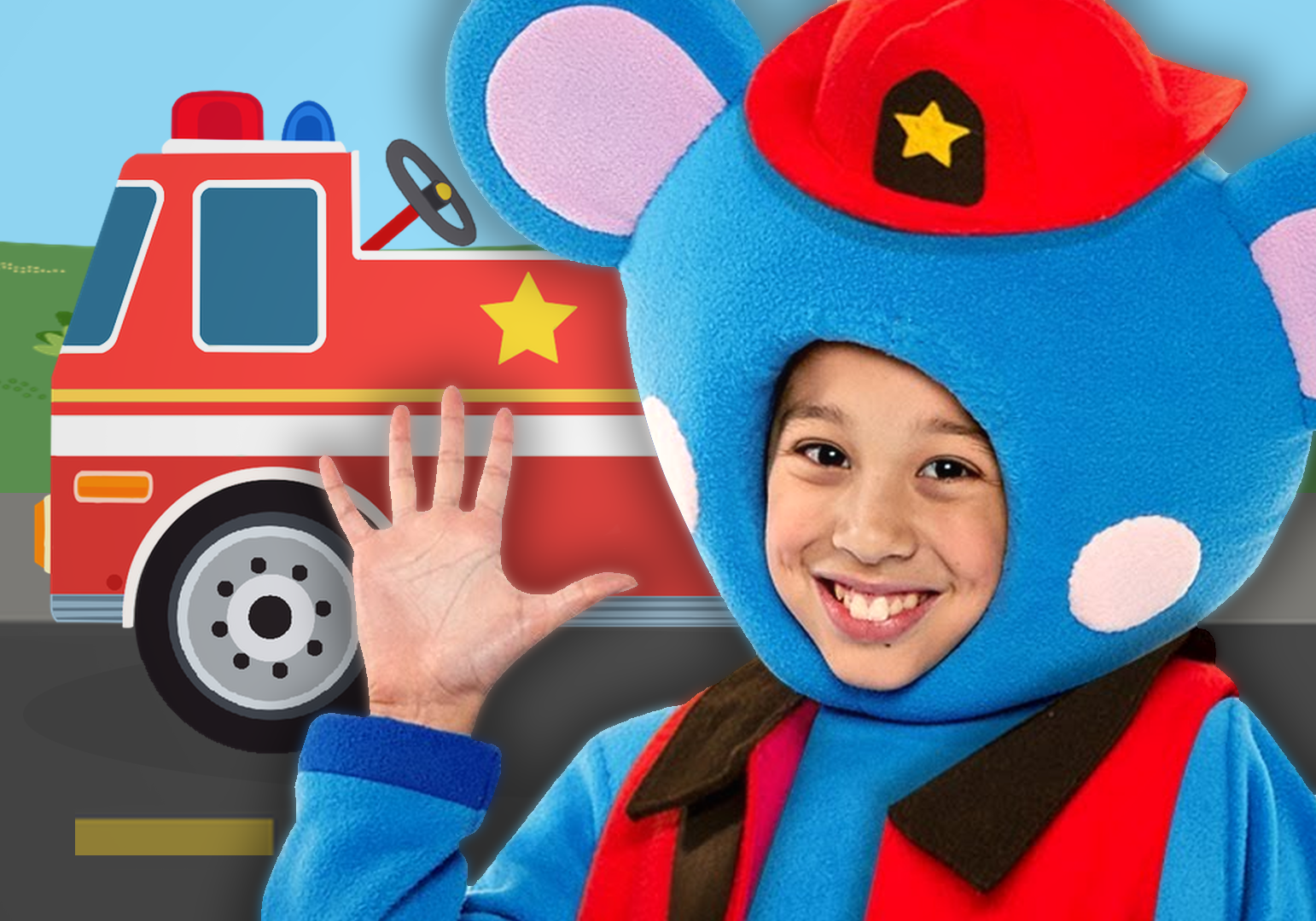 Fire Engine by Mother Goose Club