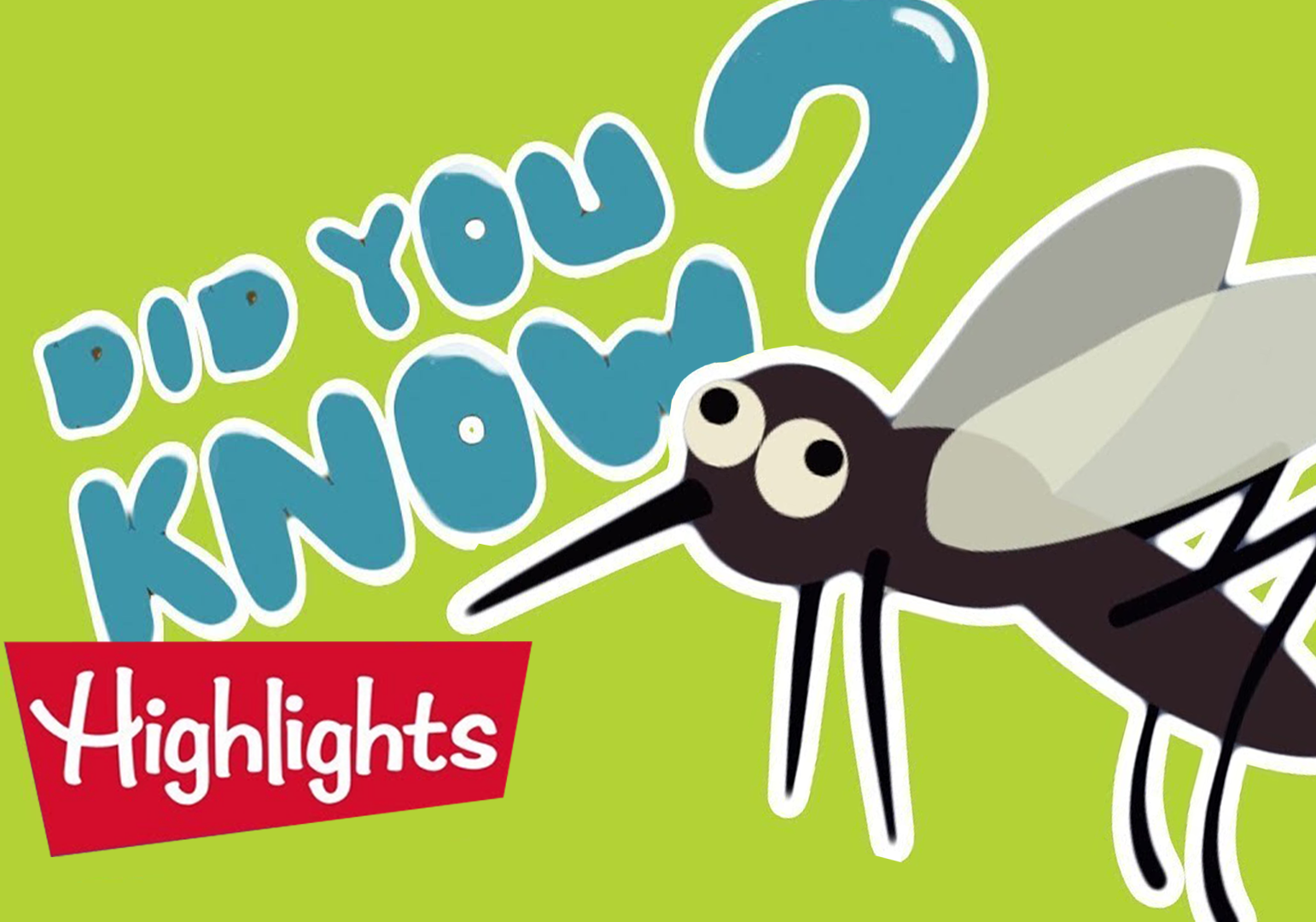 Did You Know? Backyard Creatures by Highlights For Kids