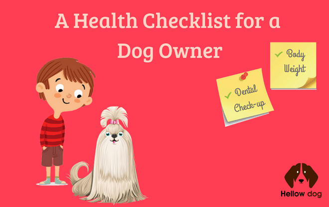 Dog Health Checklist