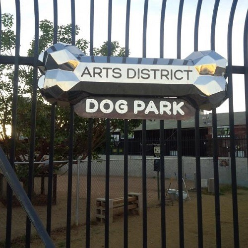 Arts District Dog Park in Los Angeles, CA