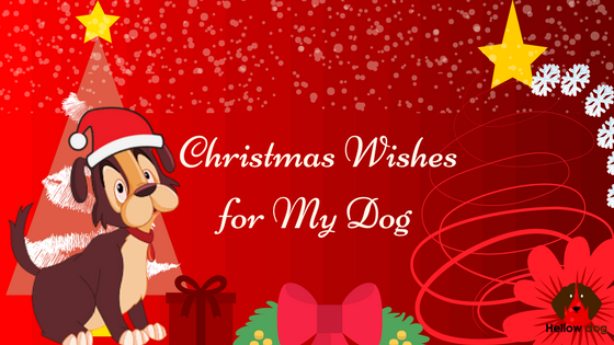 Christmas Wishes for My Dog