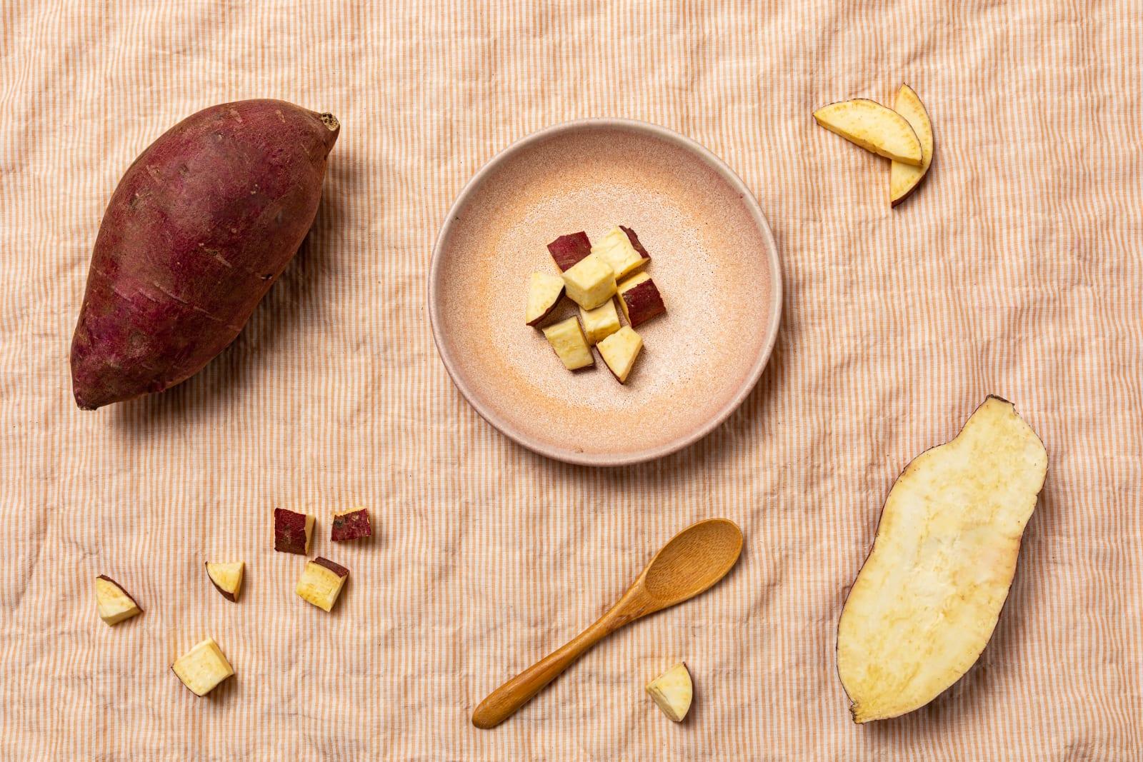 Yumi Japanese Sweet Potato ingredients image