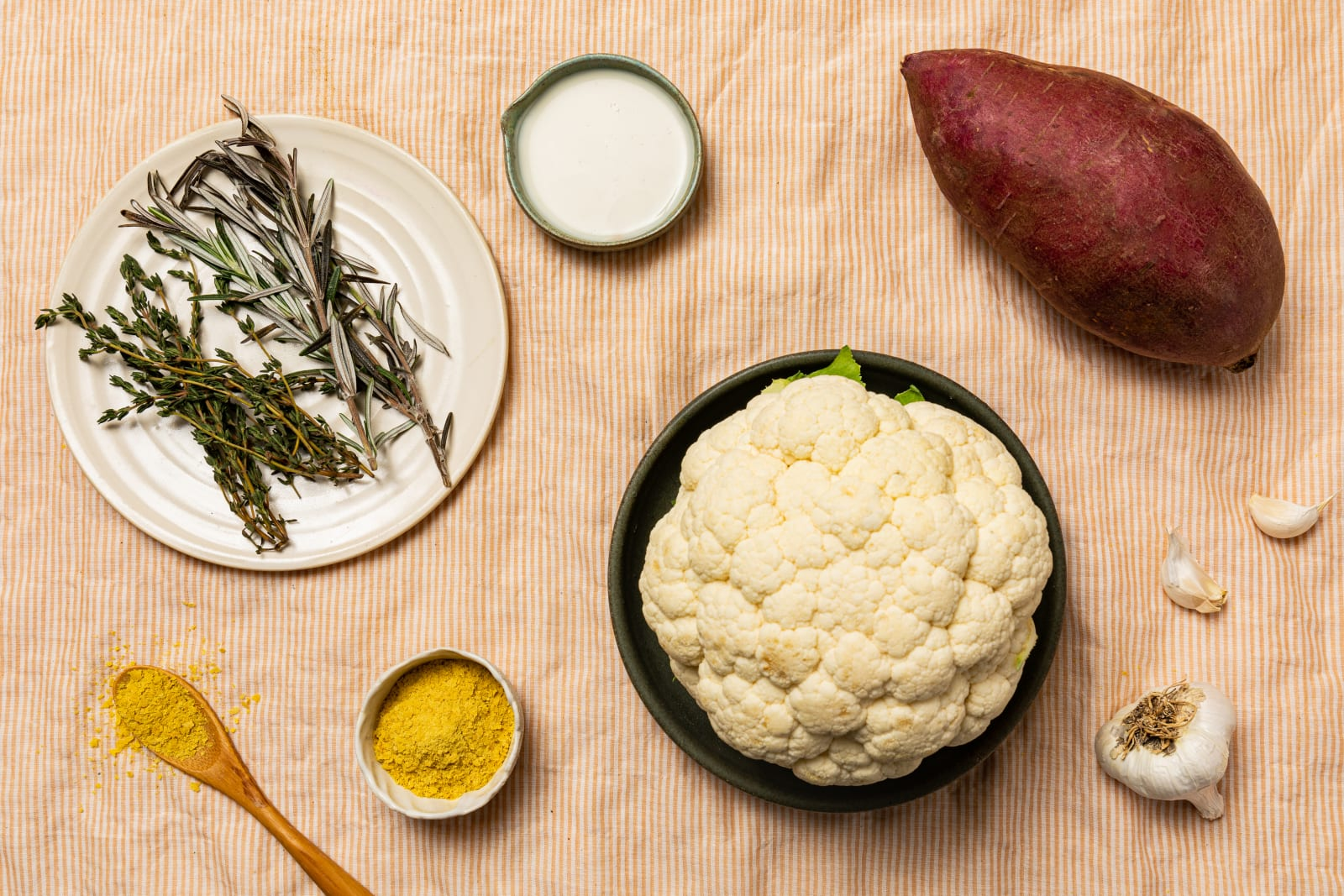 Yumi Cauliflower Soup ingredients image