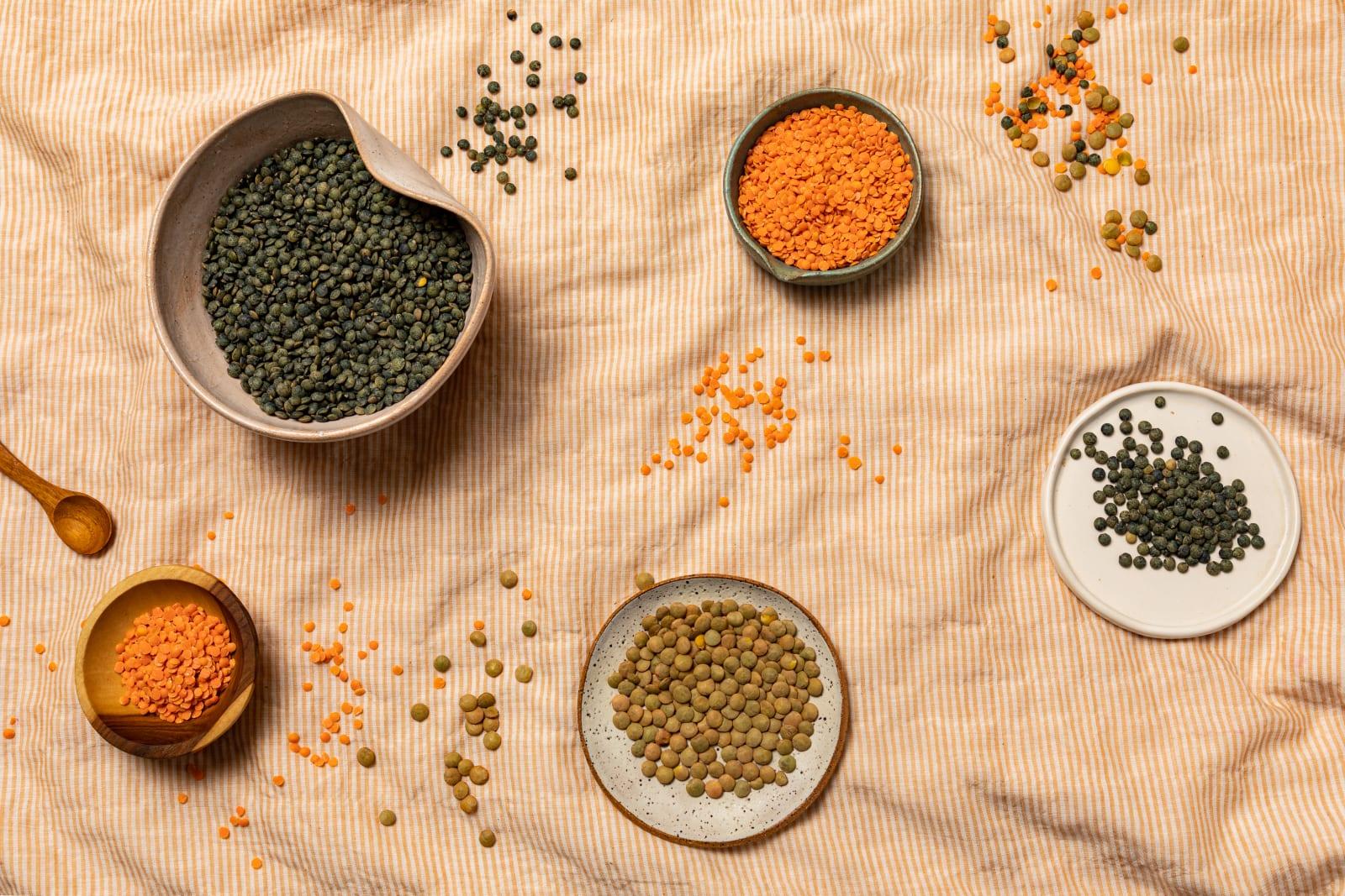 Yumi Lentils ingredients image