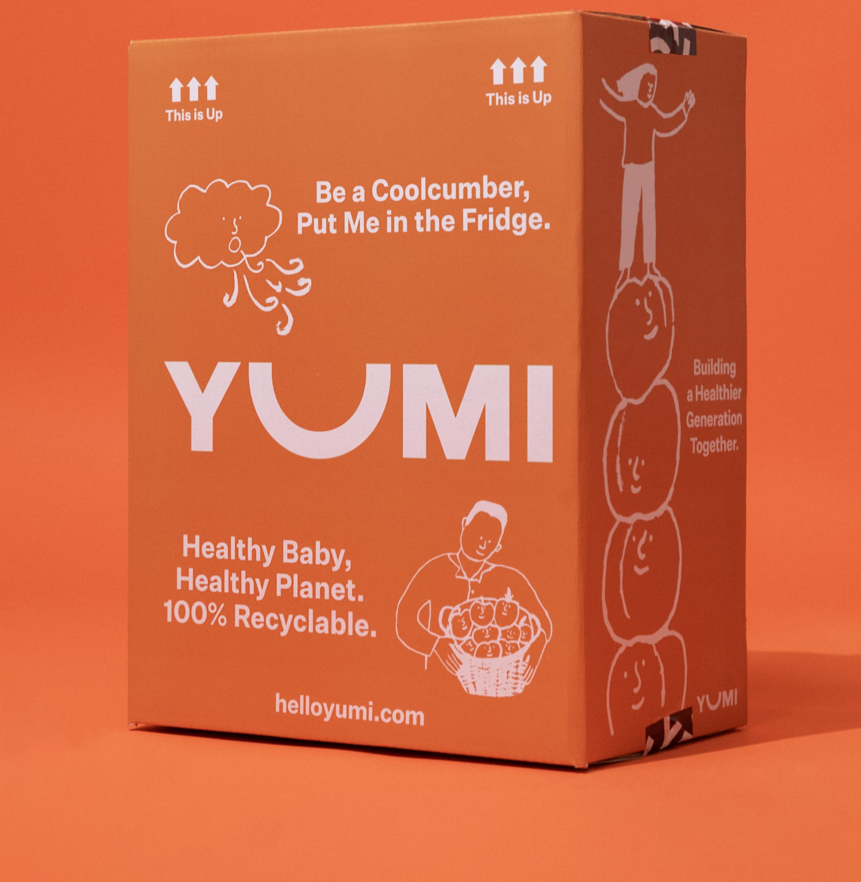 box of yumi food