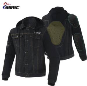 2018 Motorcycle Jacket Spring Summer Men Denim Jacket