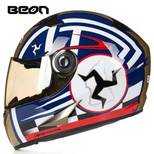 BEON Motorcycle Helmet Full Face