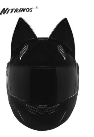 NITRINOS Motorcycle Helmet Women Full-Face