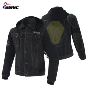 2018 Motorcycle Jacket Spring Summer Men Denim Jacket