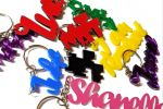 Custom Keychain | Multiple colors and fonts