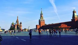 Moscow walking tour start: Red Square