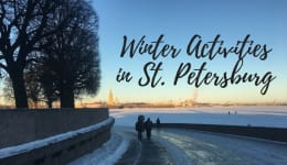 Getting Ready for Winter in St. Petersburg