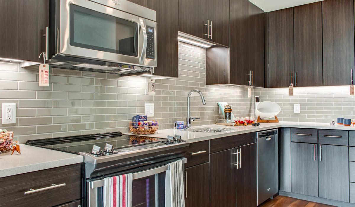 Montrose Apartment Kitchen