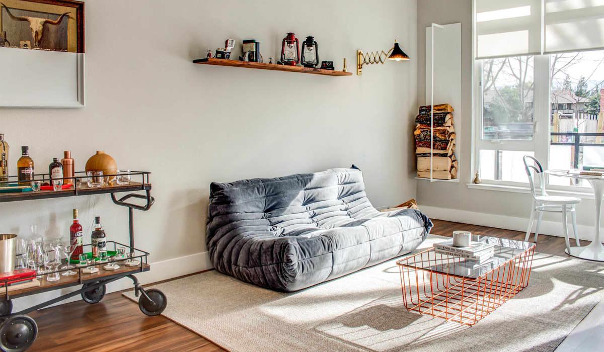 Montrose Apartment Living Room