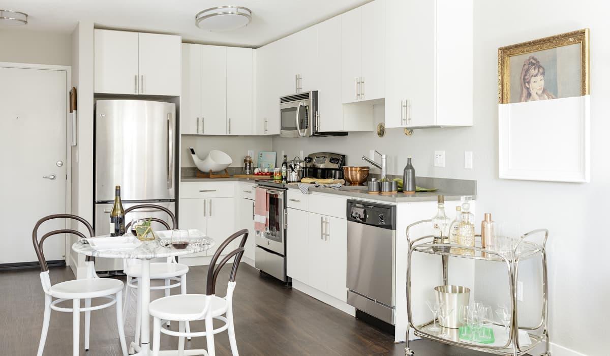 Spruce Apartment Kitchen