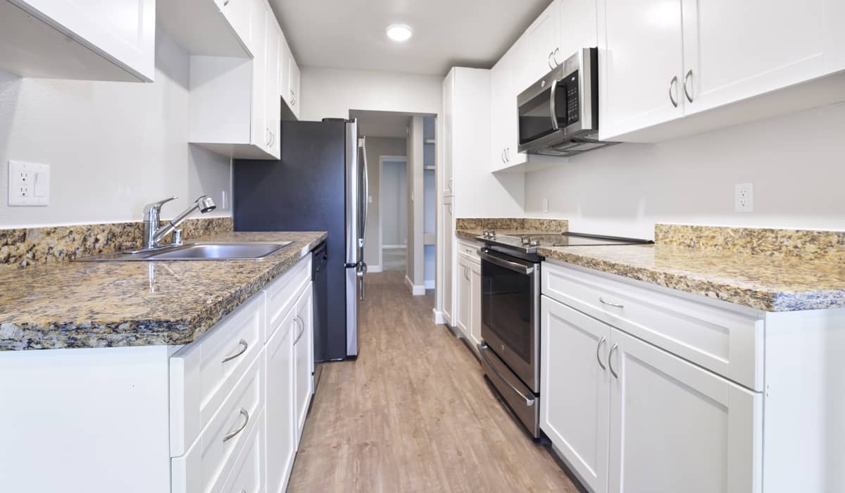 Beach Park Apartment Kitchen