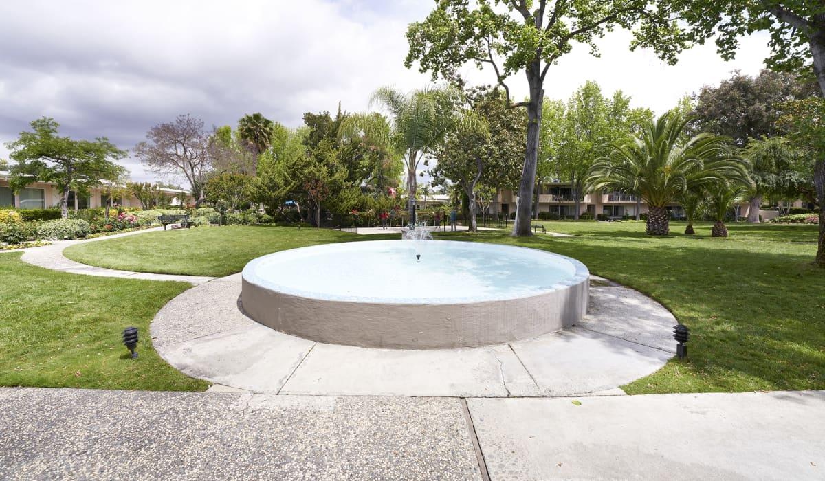 Gardens of Fontainbleu Courtyard Fountain